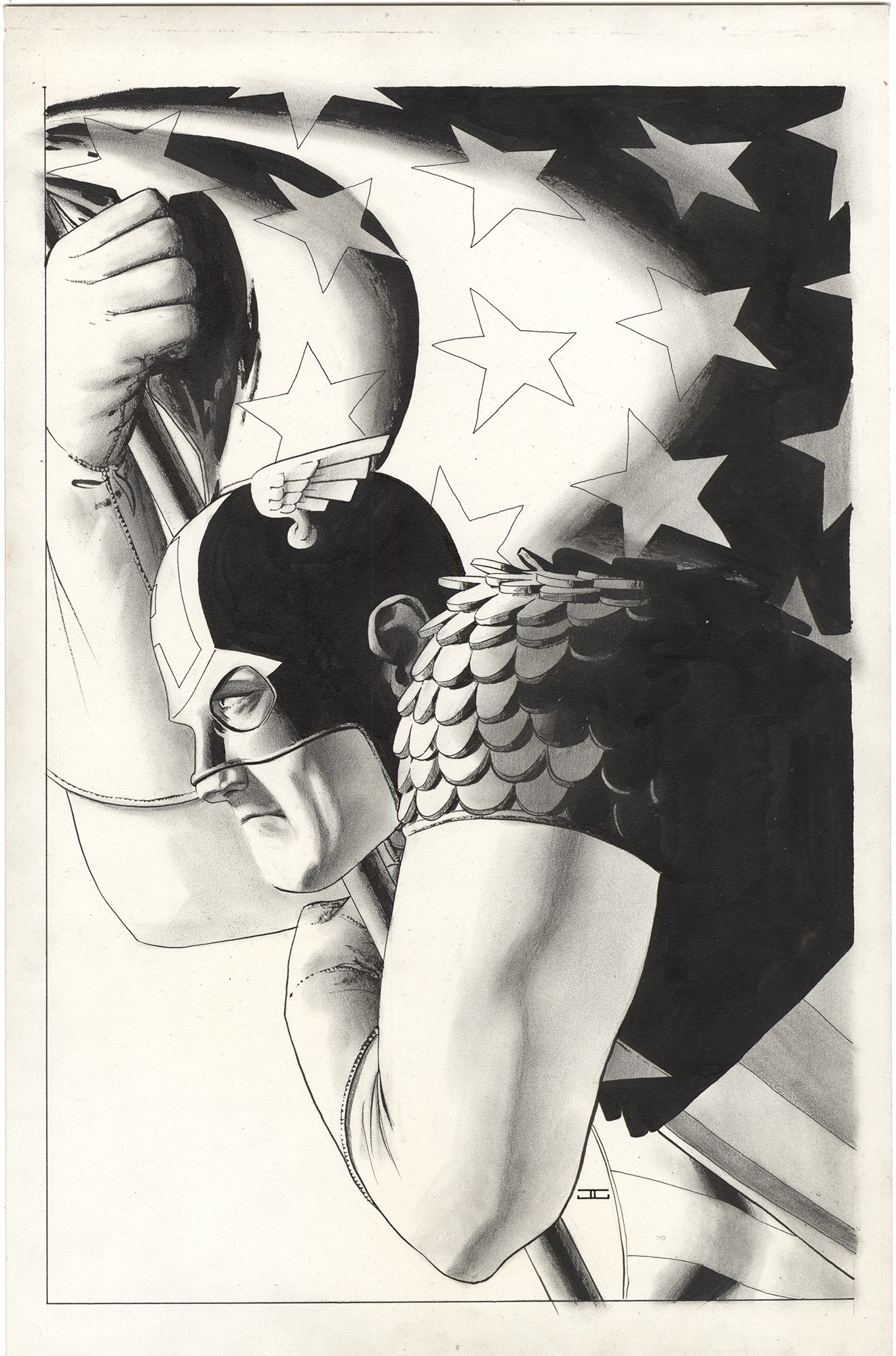 Captain America #10 Cover