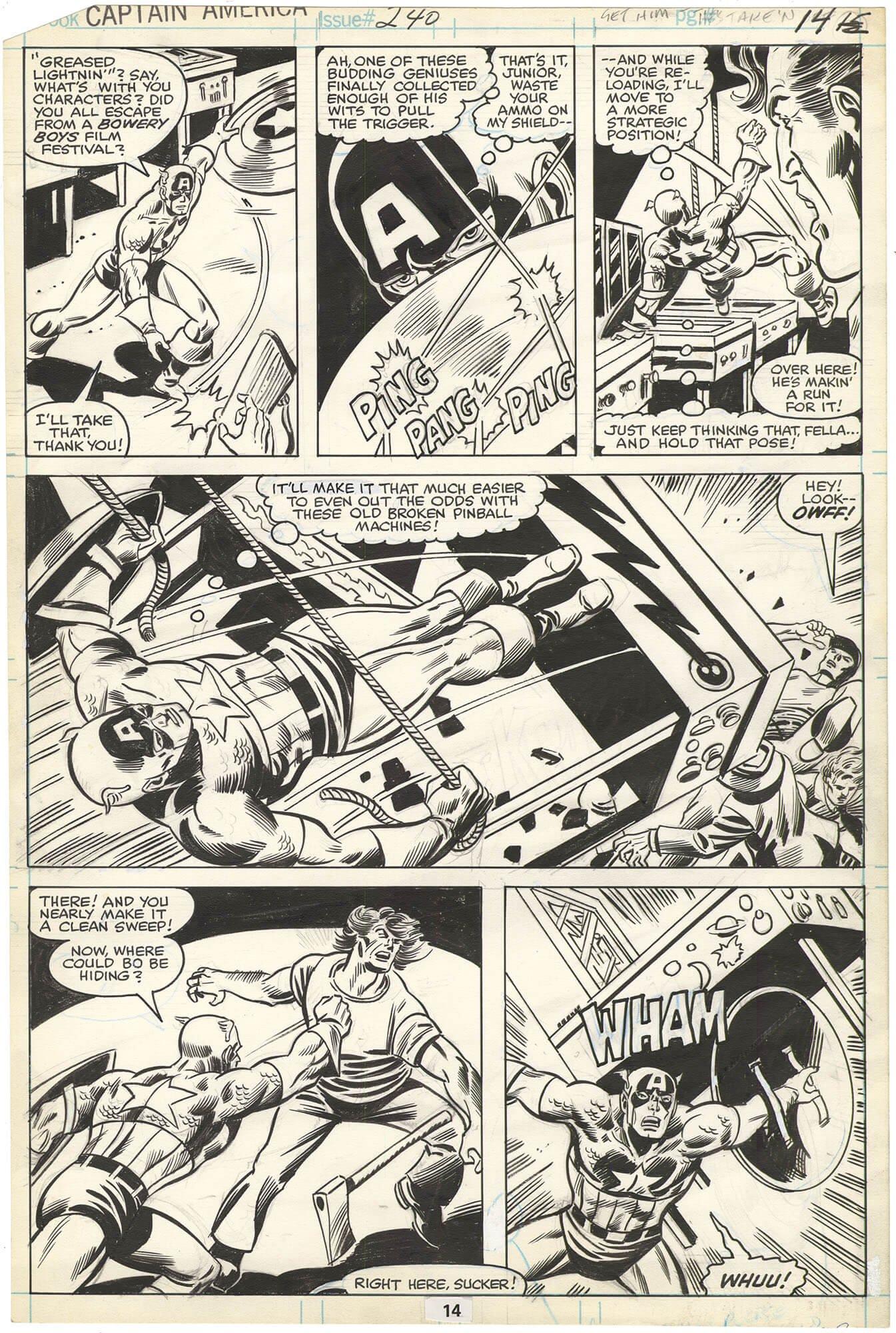 Captain America #240 p14