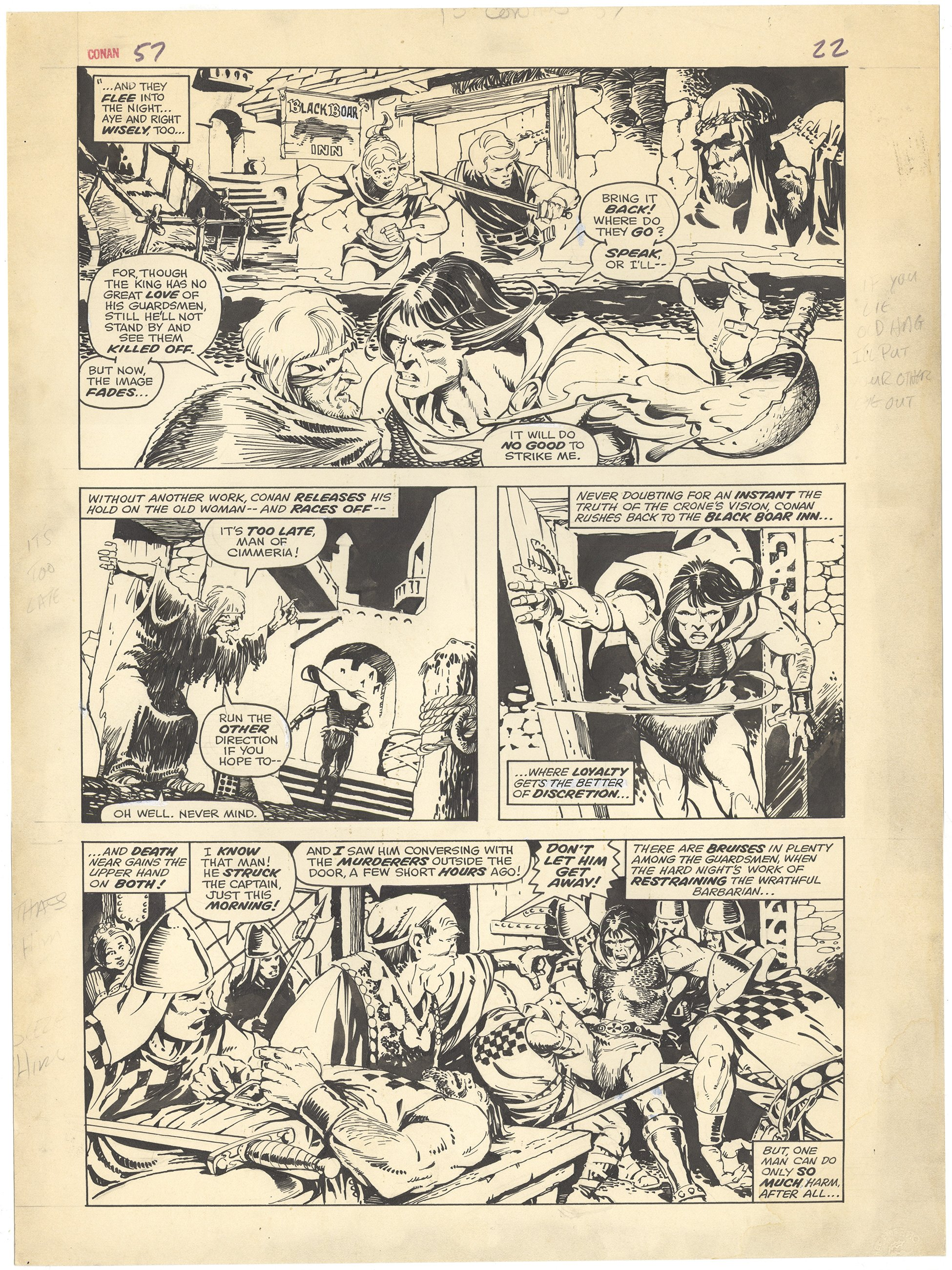 Conan the Barbarian #57 p22