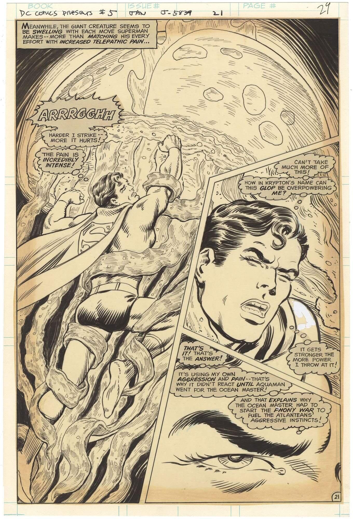 DC Comics Presents #5 p21 (⅔ Splash)