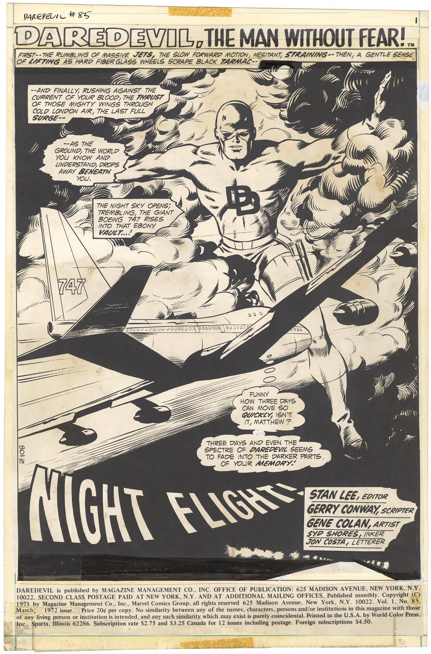 Daredevil #85 p1 (Mostly Stat)