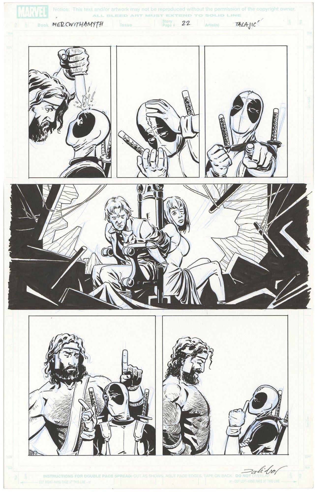 Deadpool Team Up Vol 1 #1 (899) p22 (Signed)