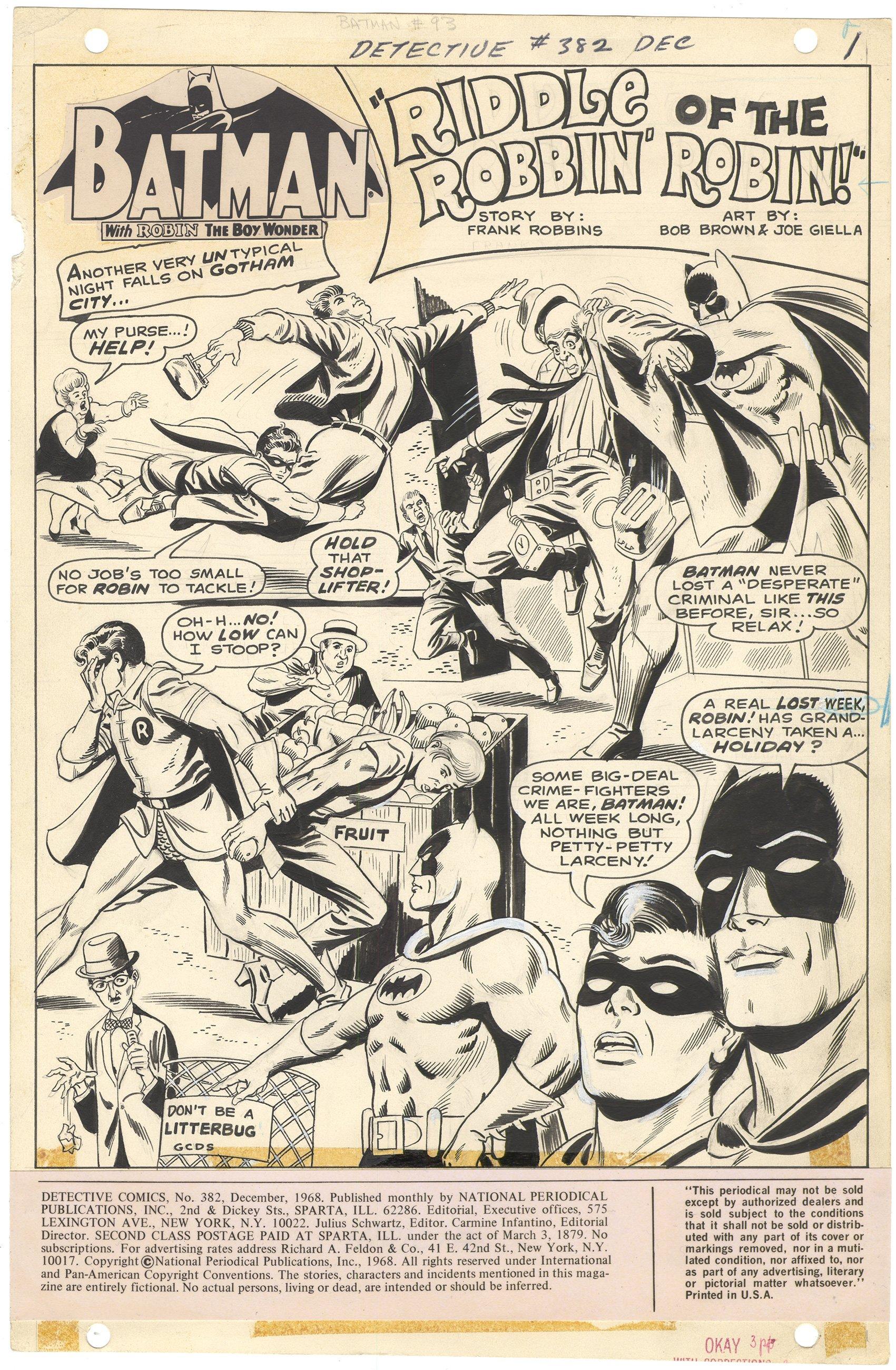 Detective Comics #382 p1