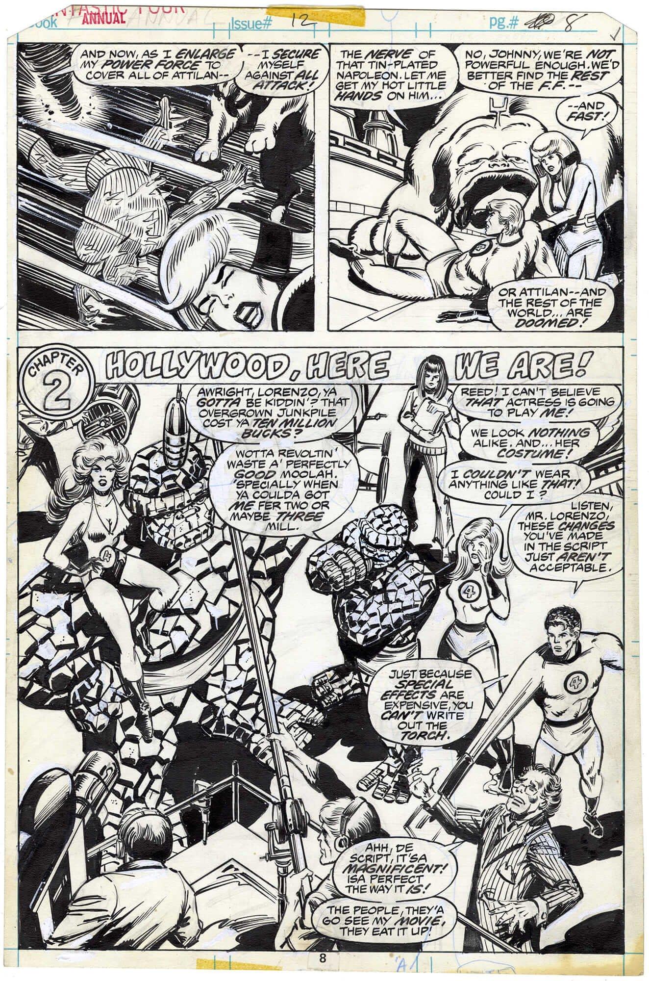 Fantastic Four Annual #12 p8 (⅔ Splash)