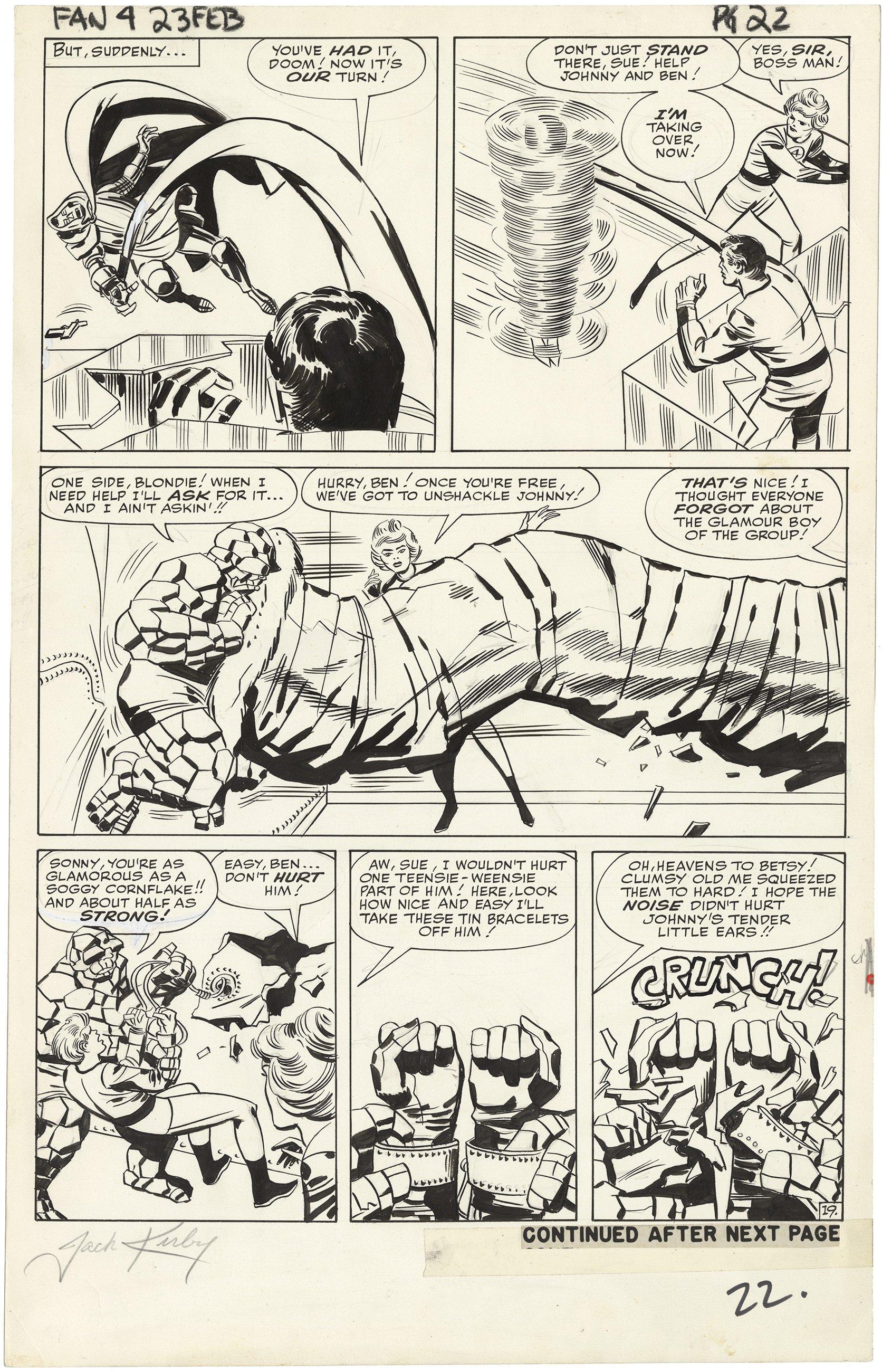 Fantastic Four #23 p19 (Large Art, Signed)