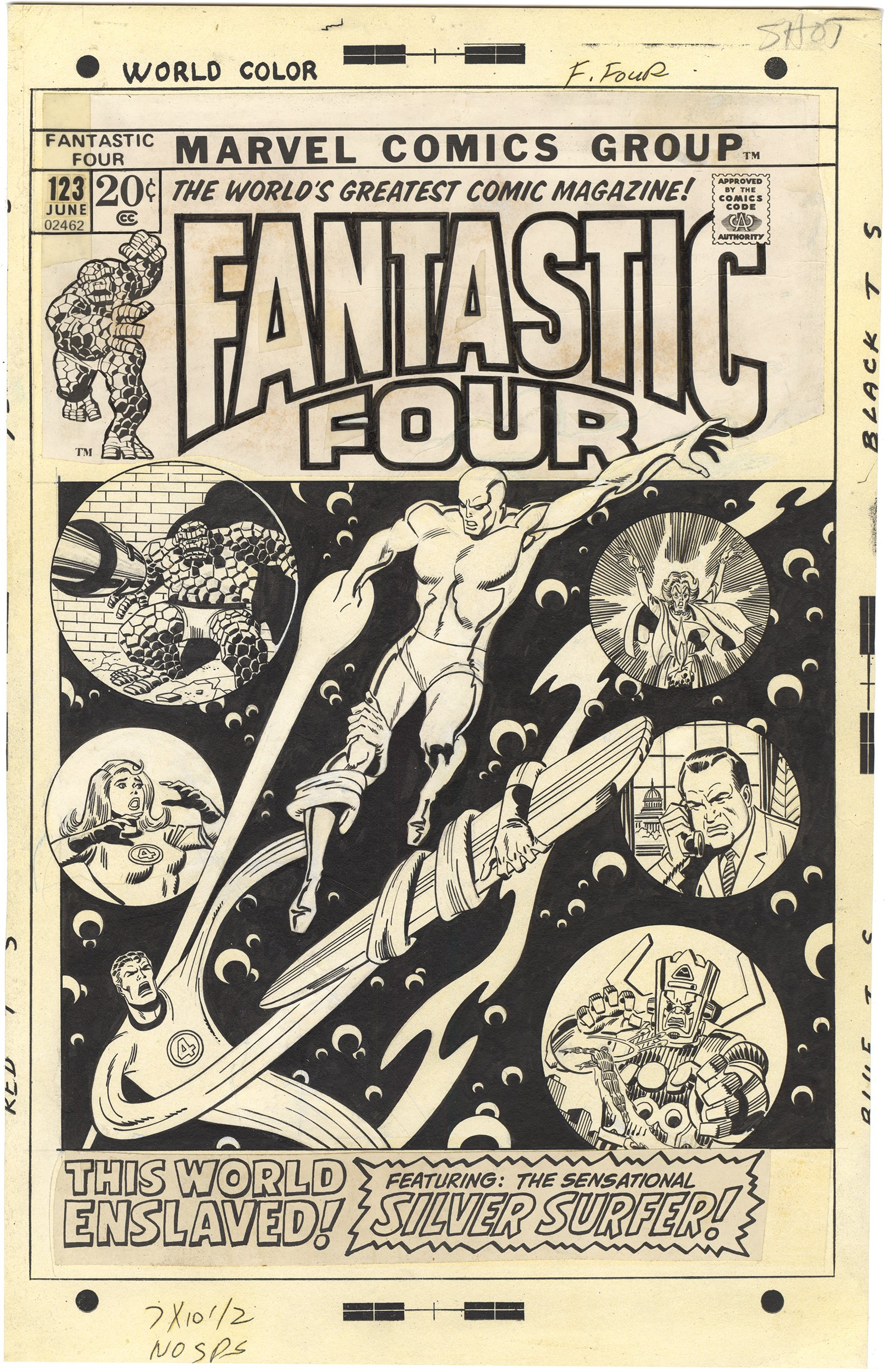 Fantastic Four #123 Cover