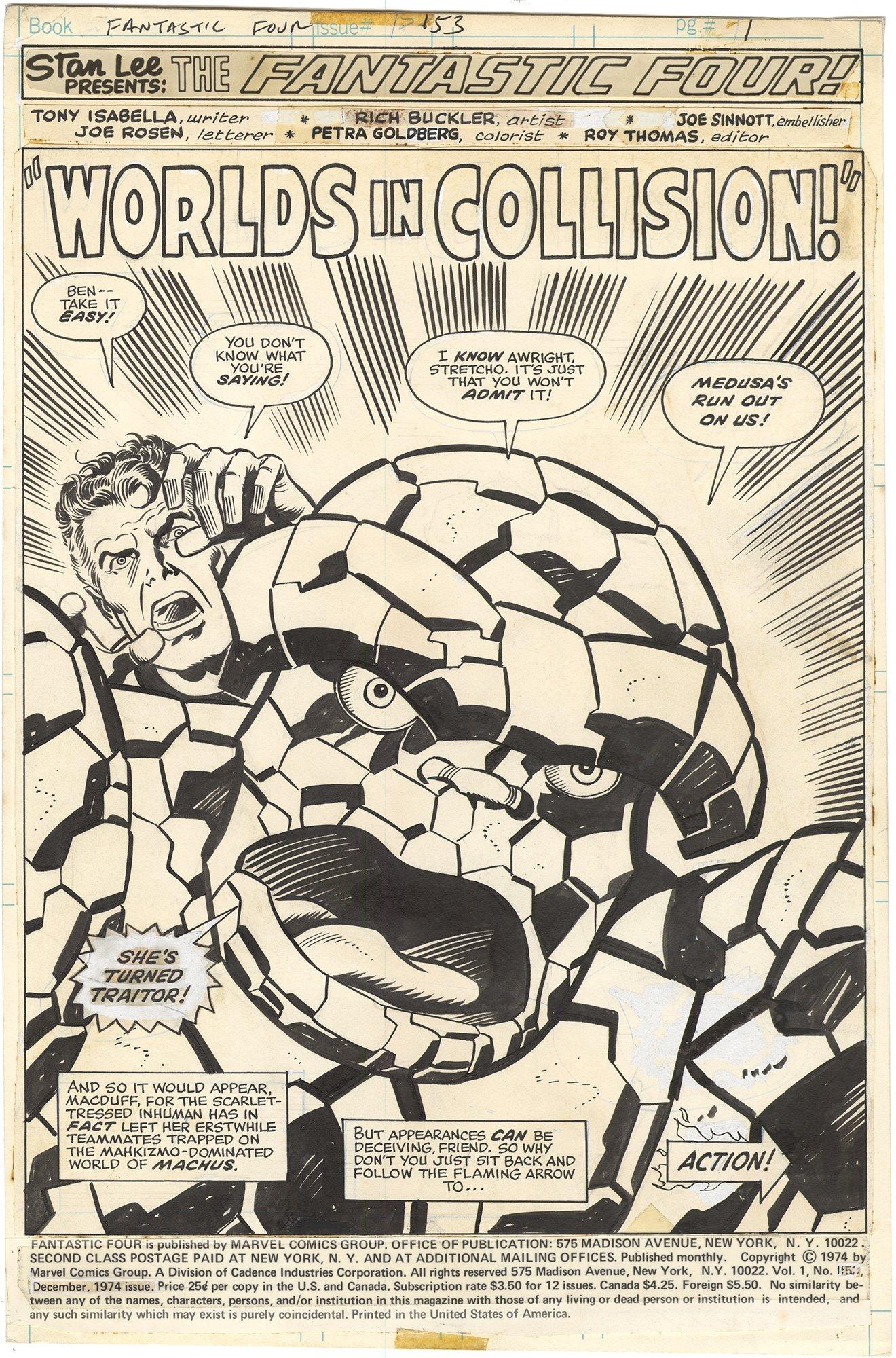 Fantastic Four #153 p1