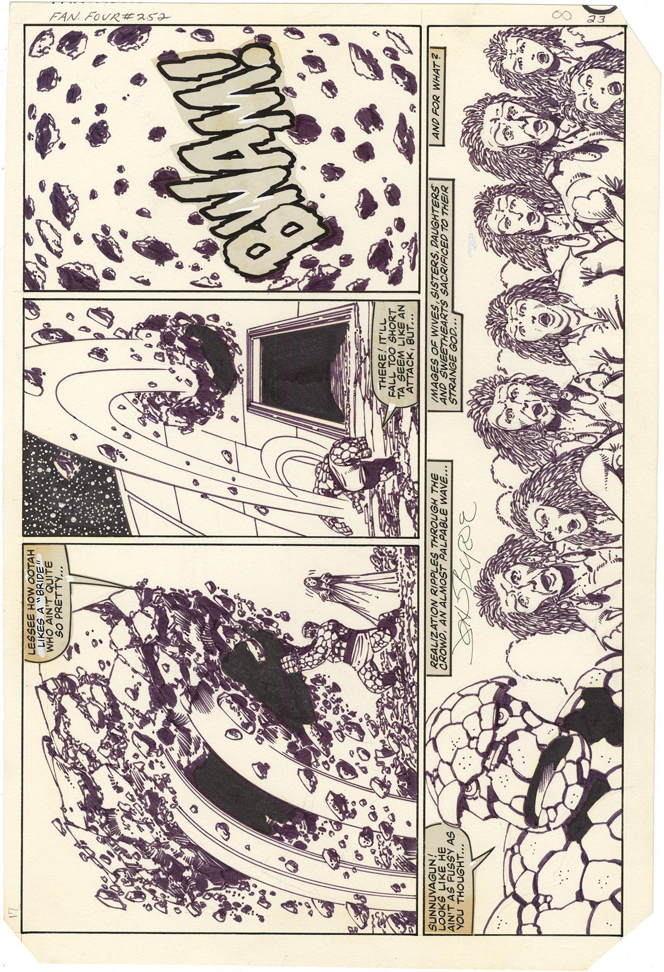 Fantastic Four #252 p23