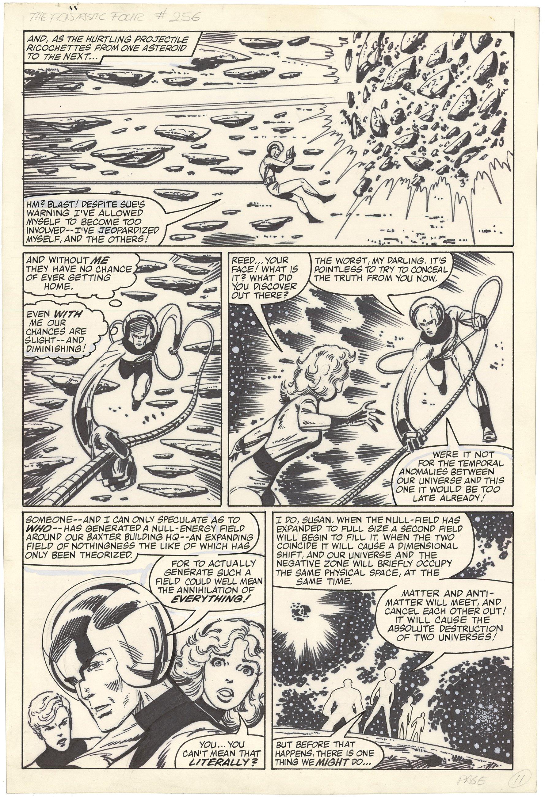 Fantastic Four #256 p11 (Large Art)