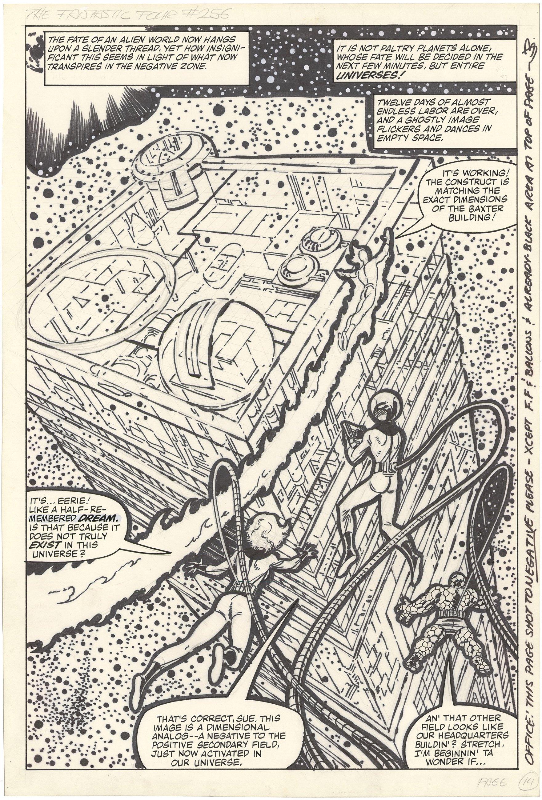 Fantastic Four #256 p14 (Large Art)