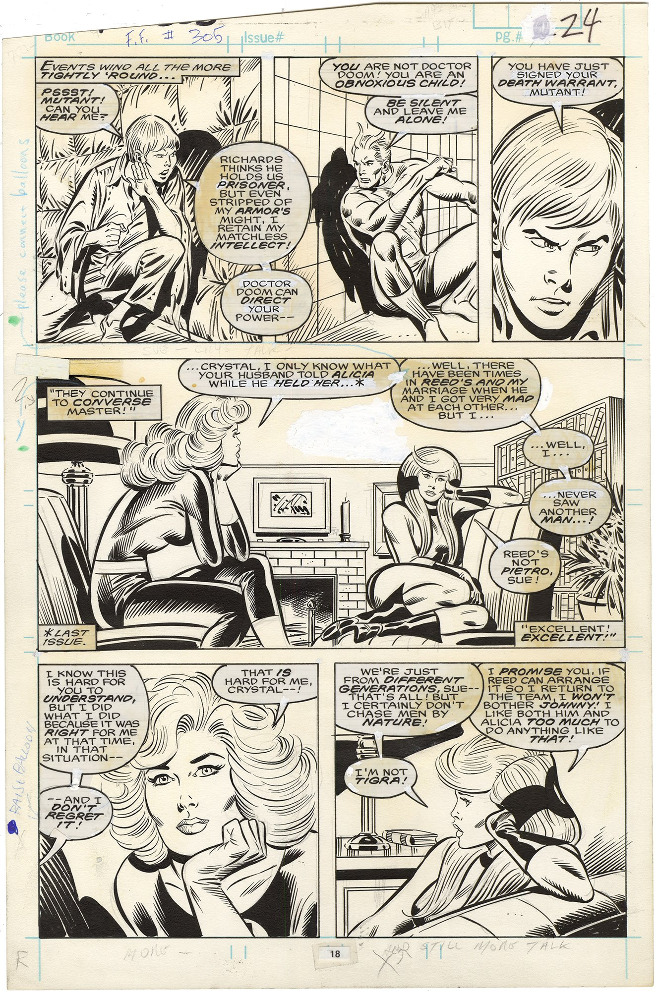 Fantastic Four #305 p18