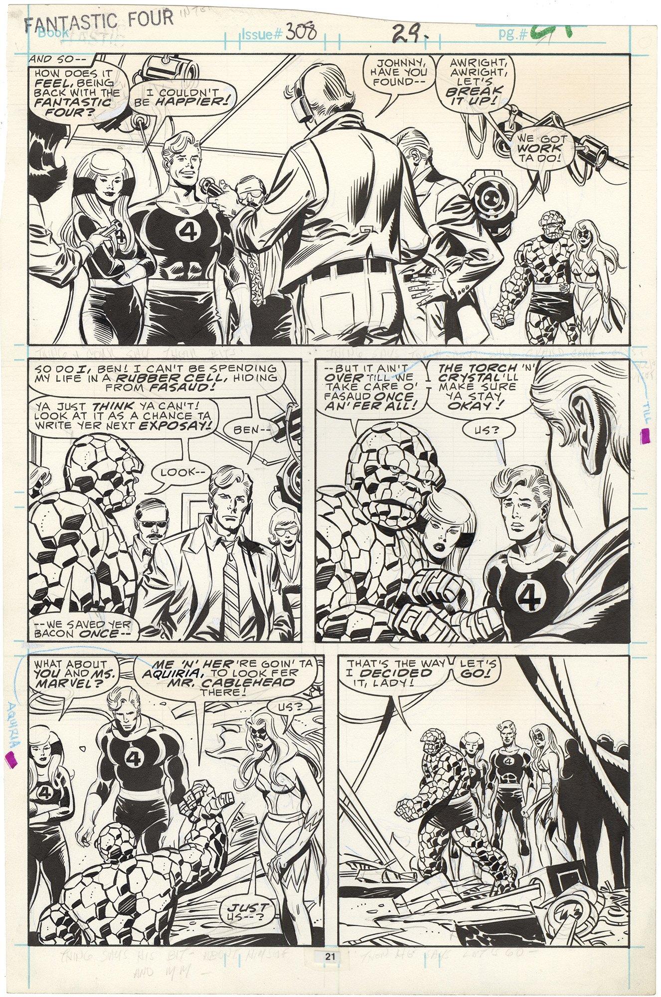 Fantastic Four #308 p21