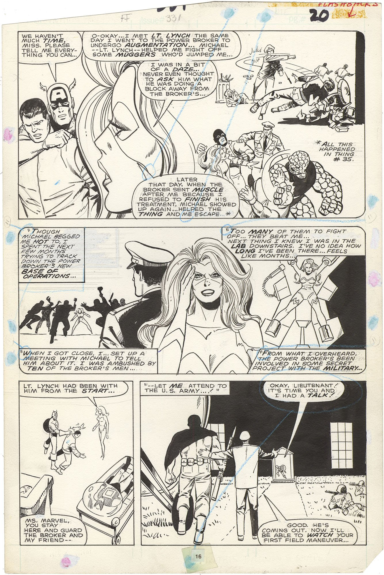 Fantastic Four #331 p16