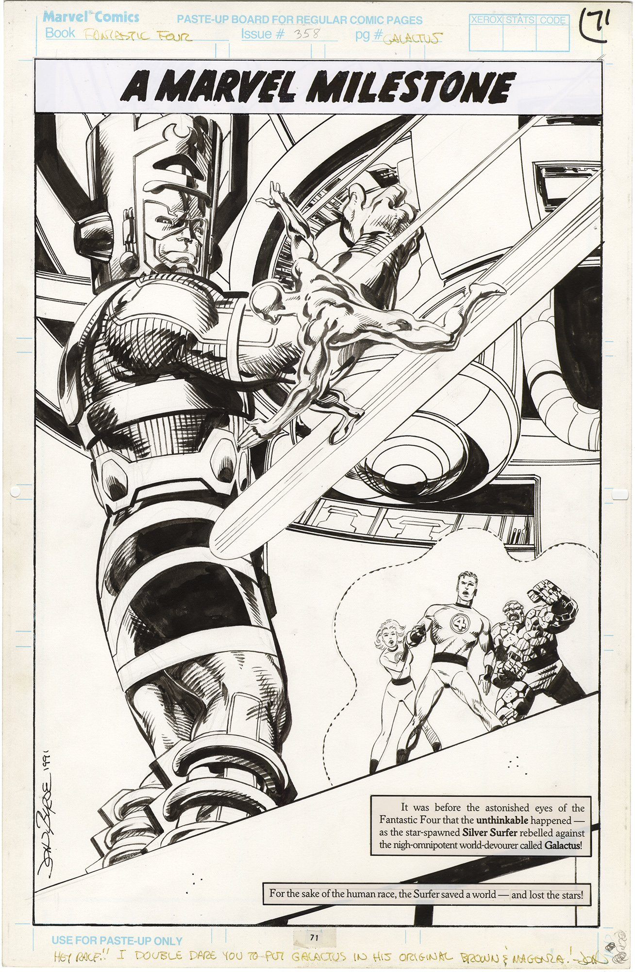 Fantastic Four #358 p71
