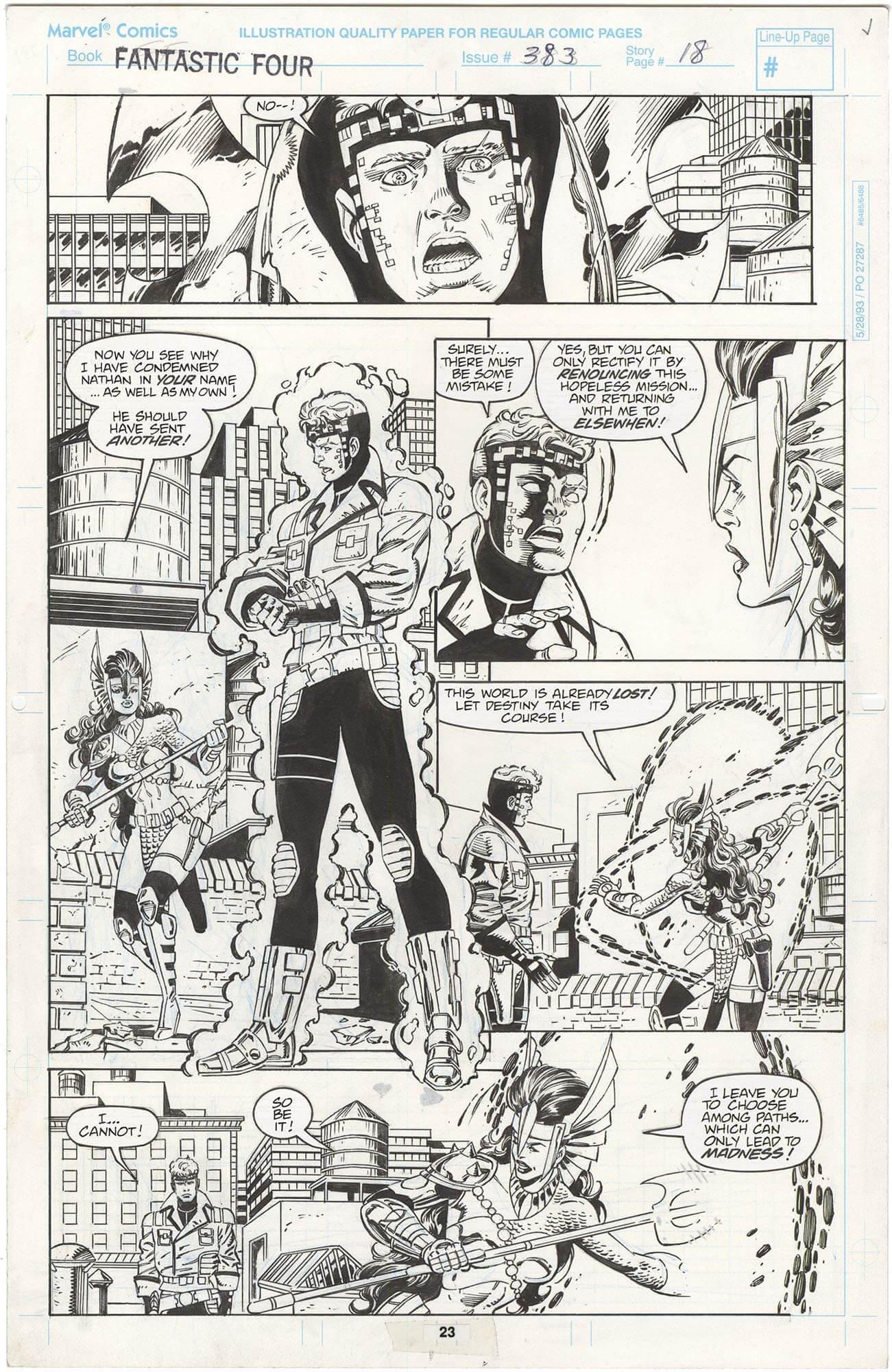 Fantastic Four #383 p23