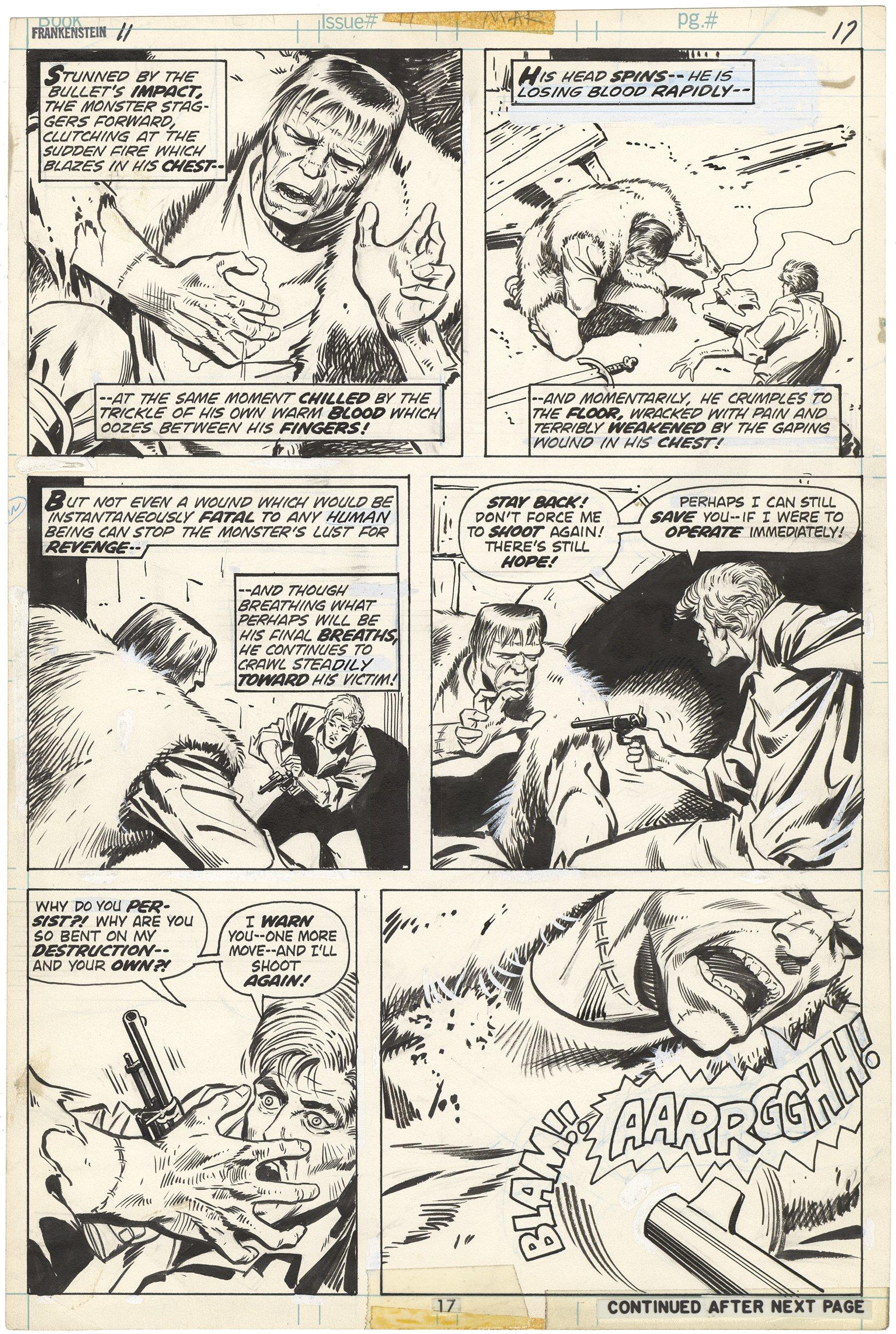 Frankenstein #11 p17