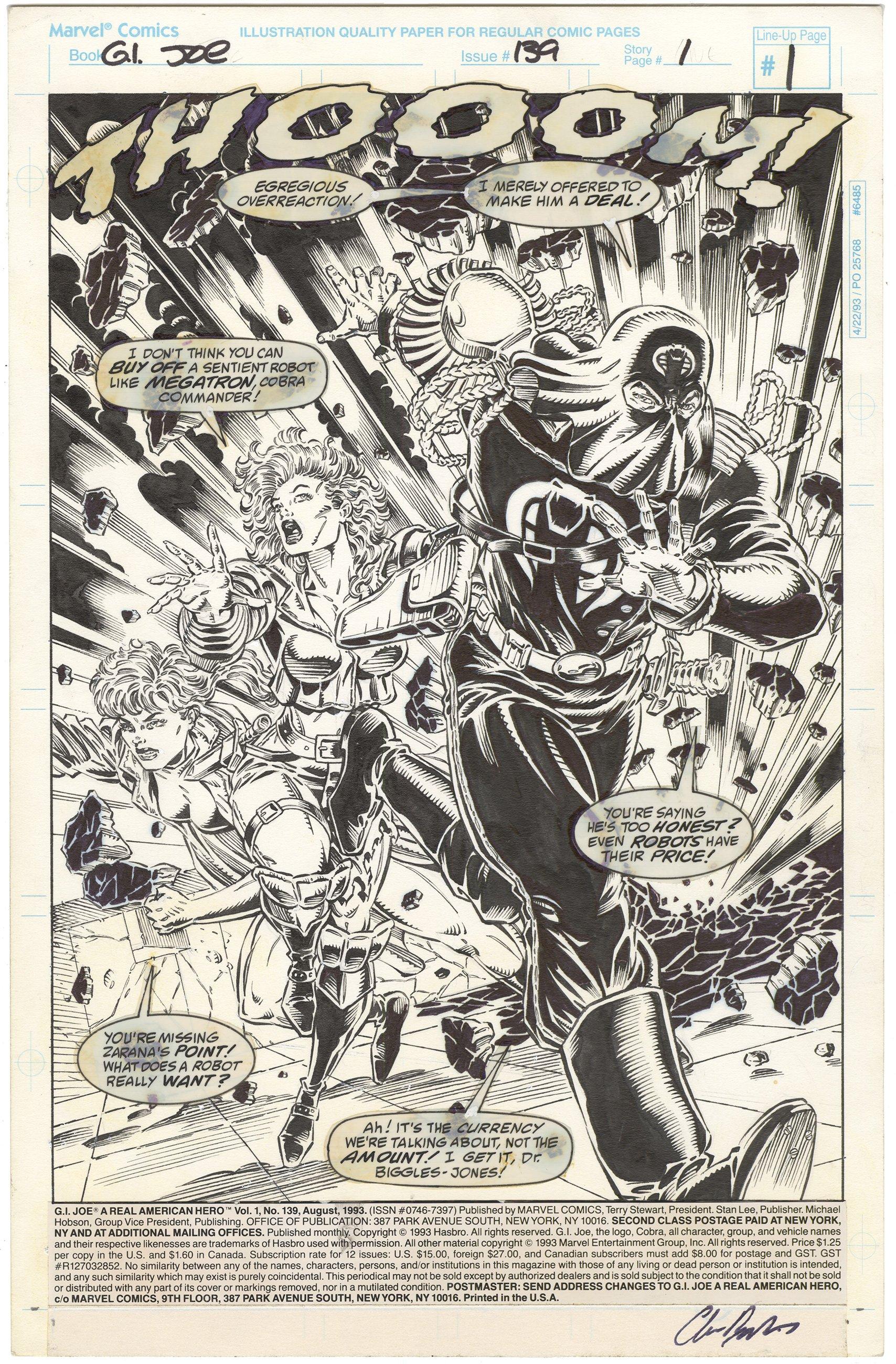 G.I. Joe #139 p1 (Signed)