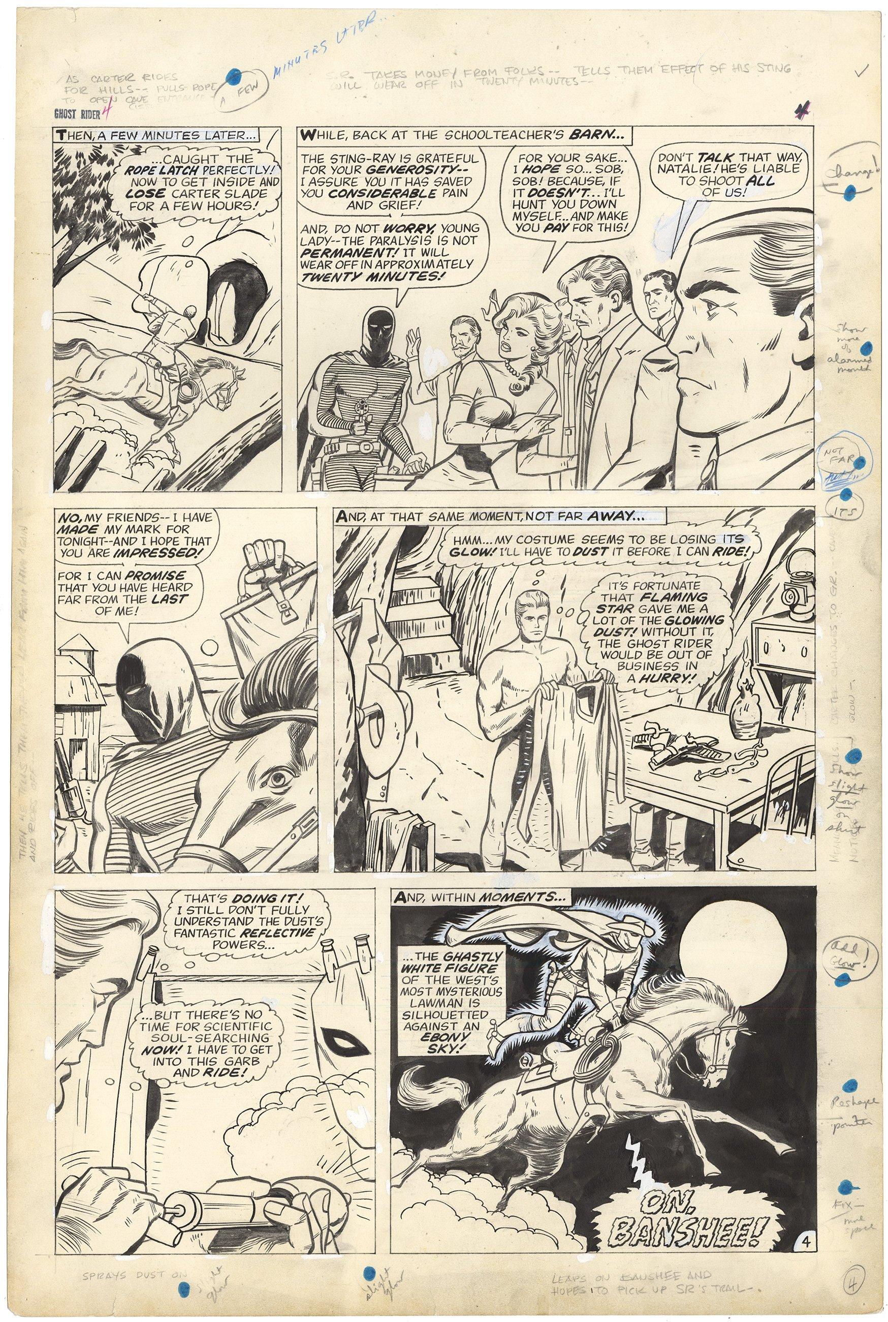Ghost Rider #4 p4 (Large Art)