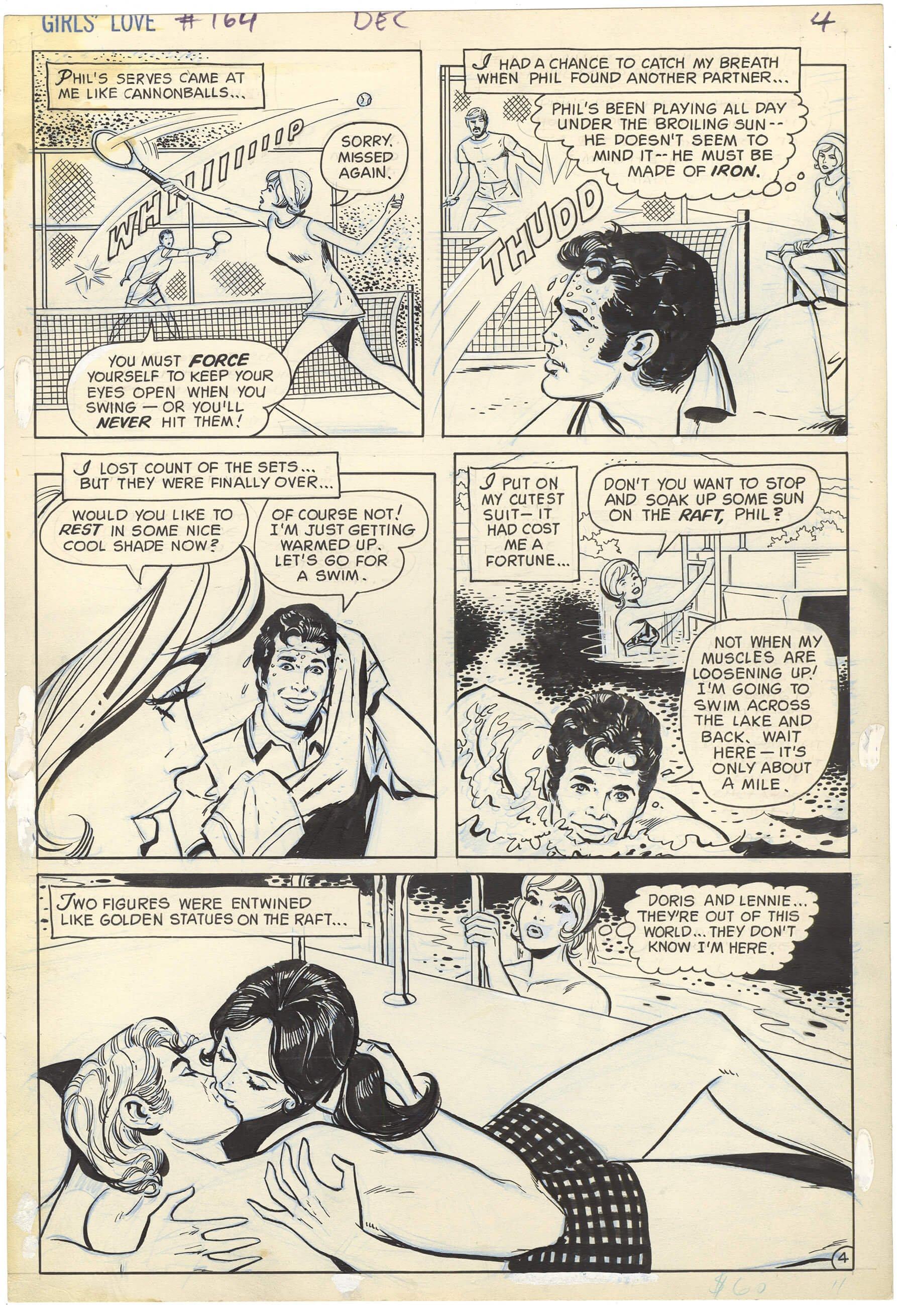 Girls' Love Stories #164 p4