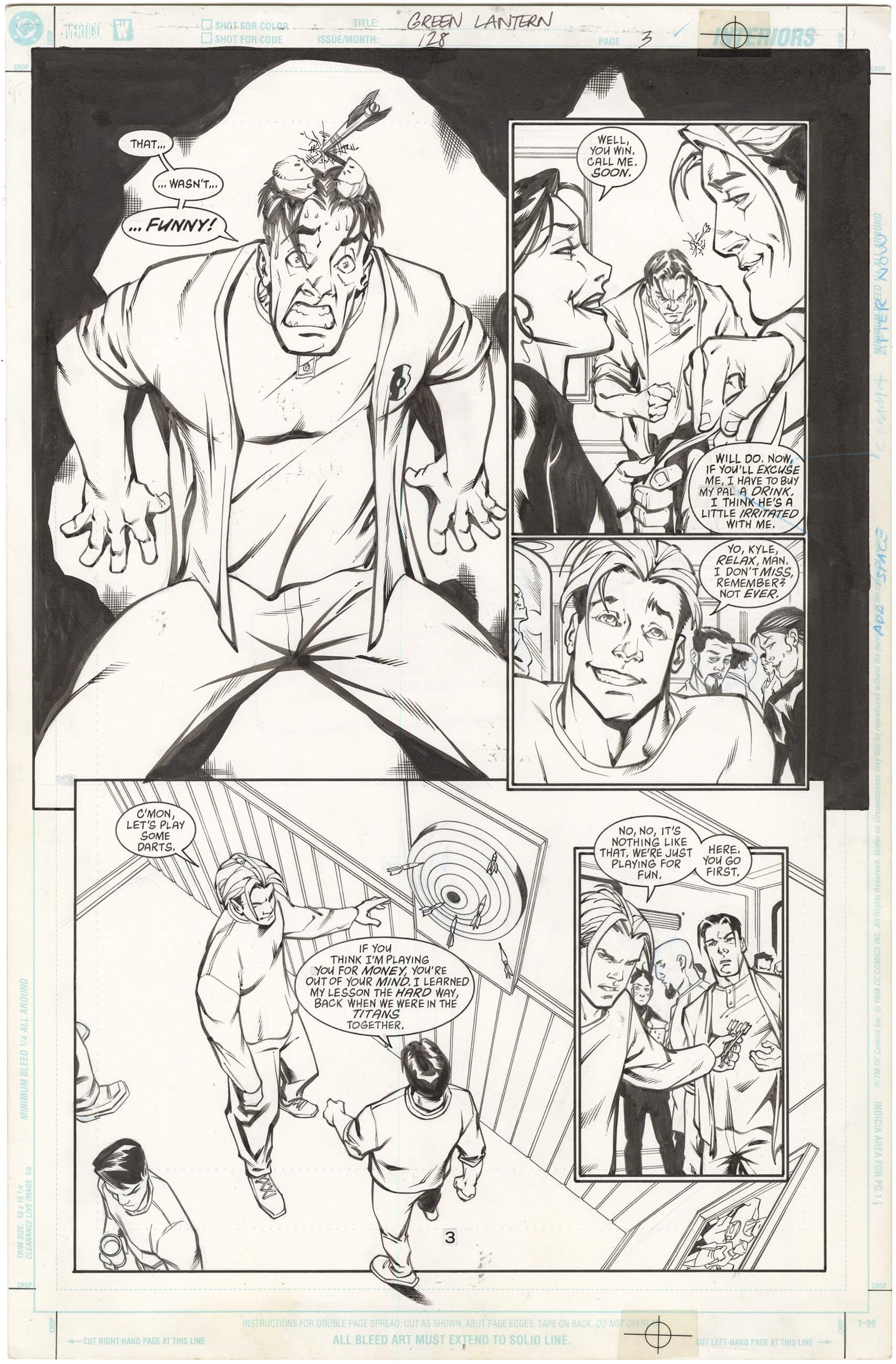 Green Lantern #128 p3