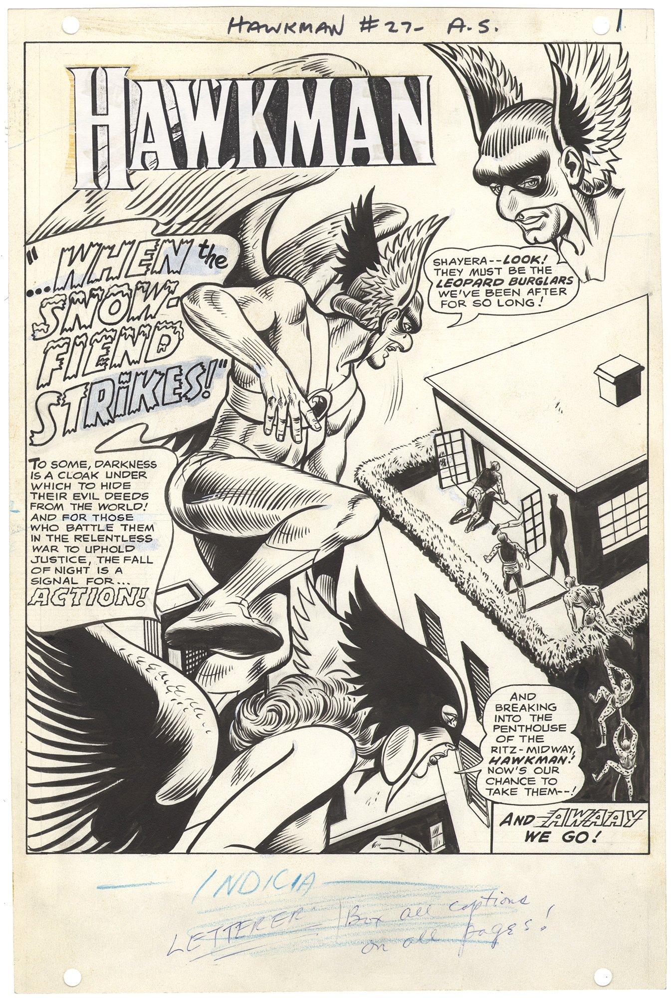 Hawkman #27 p1