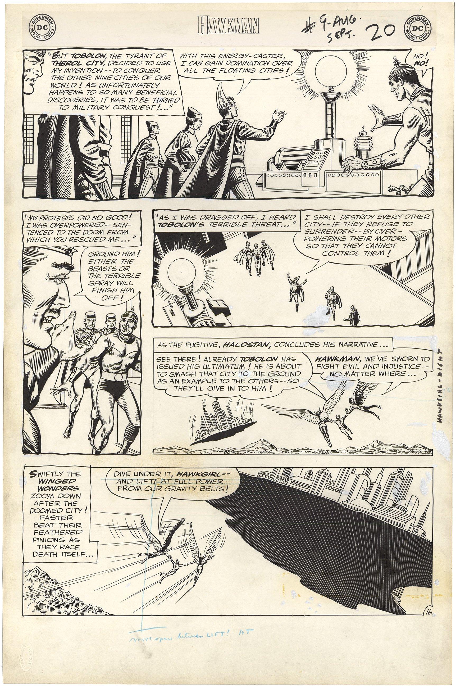 Hawkman #9 p16