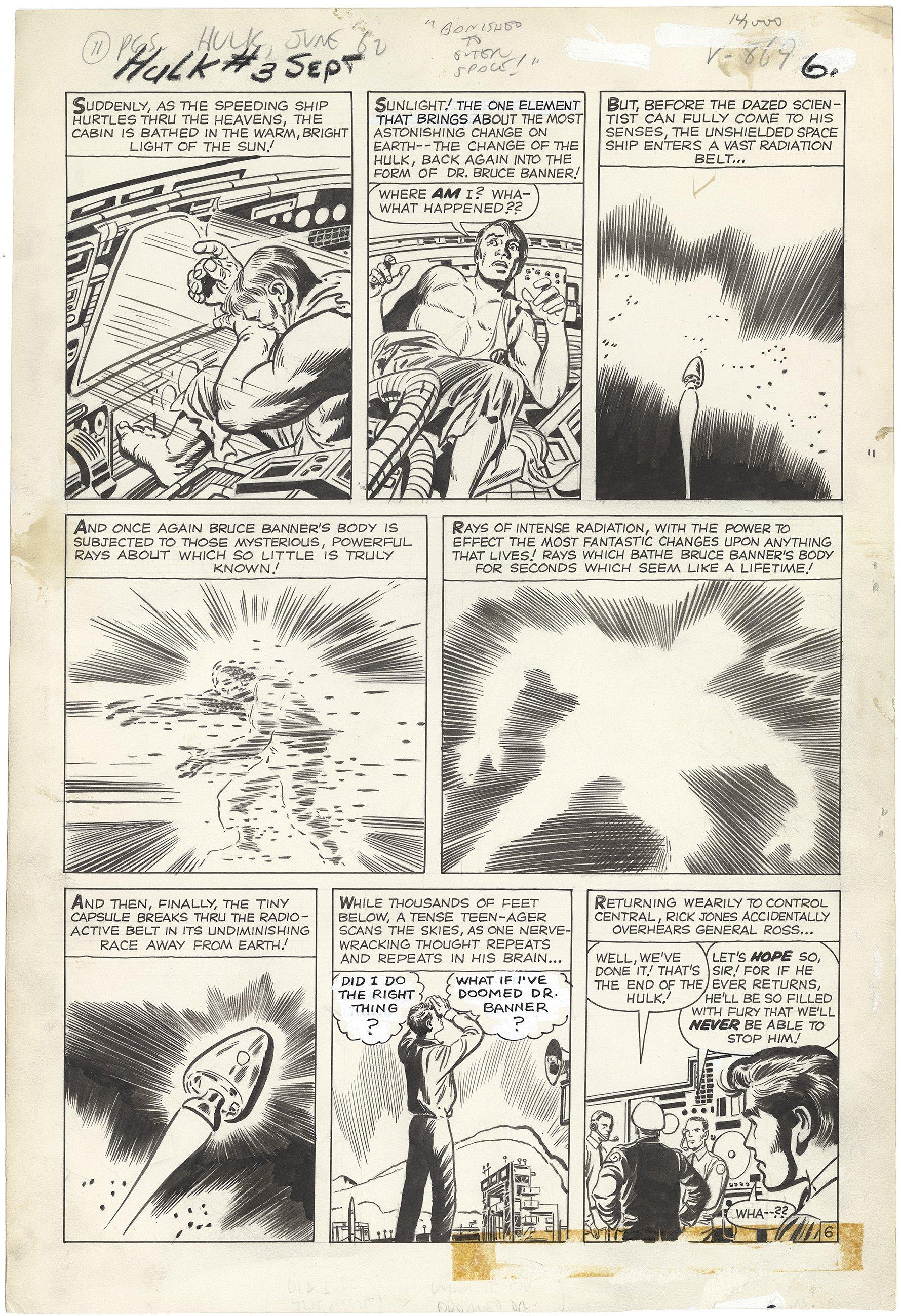 Incredible Hulk #3 p6 (Large Art)