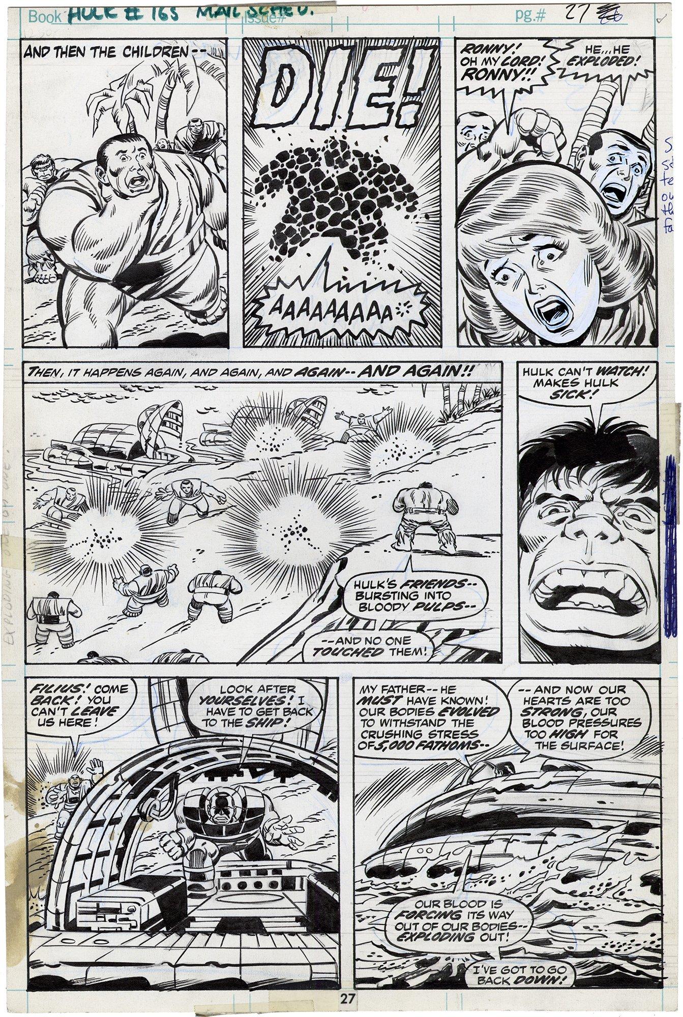 Incredible Hulk #165 p27