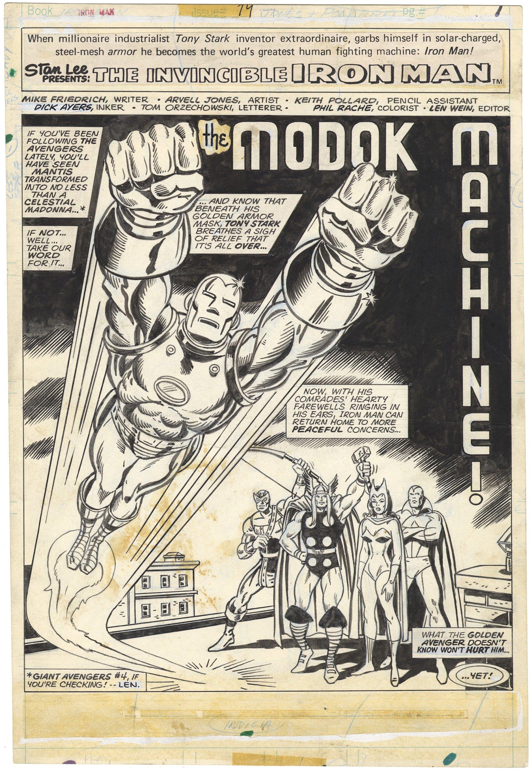 Iron Man #74 p1