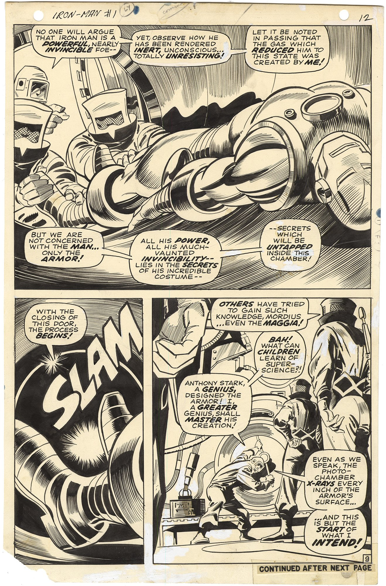 Iron Man #1 p9