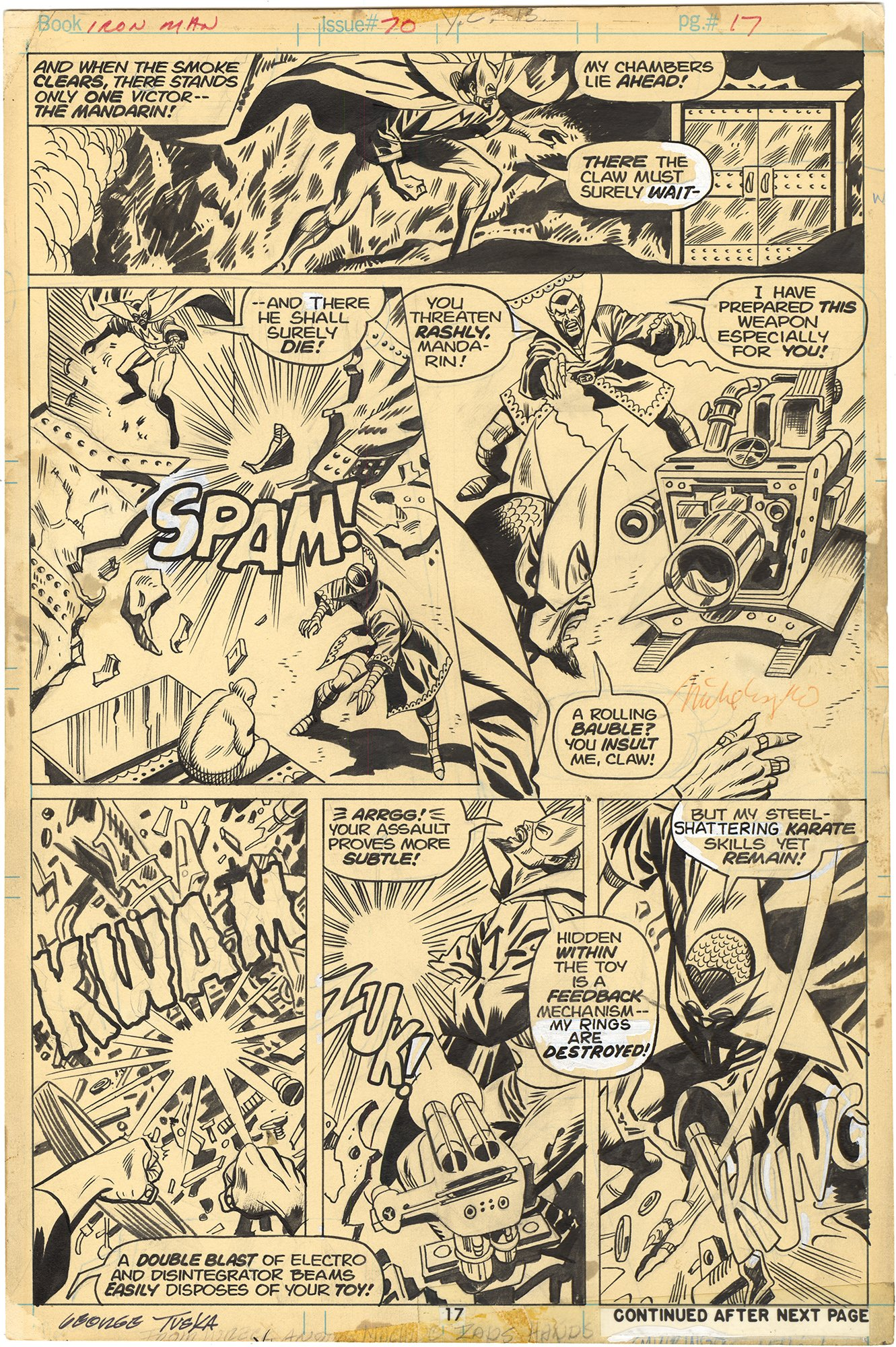 Iron Man #70 p17