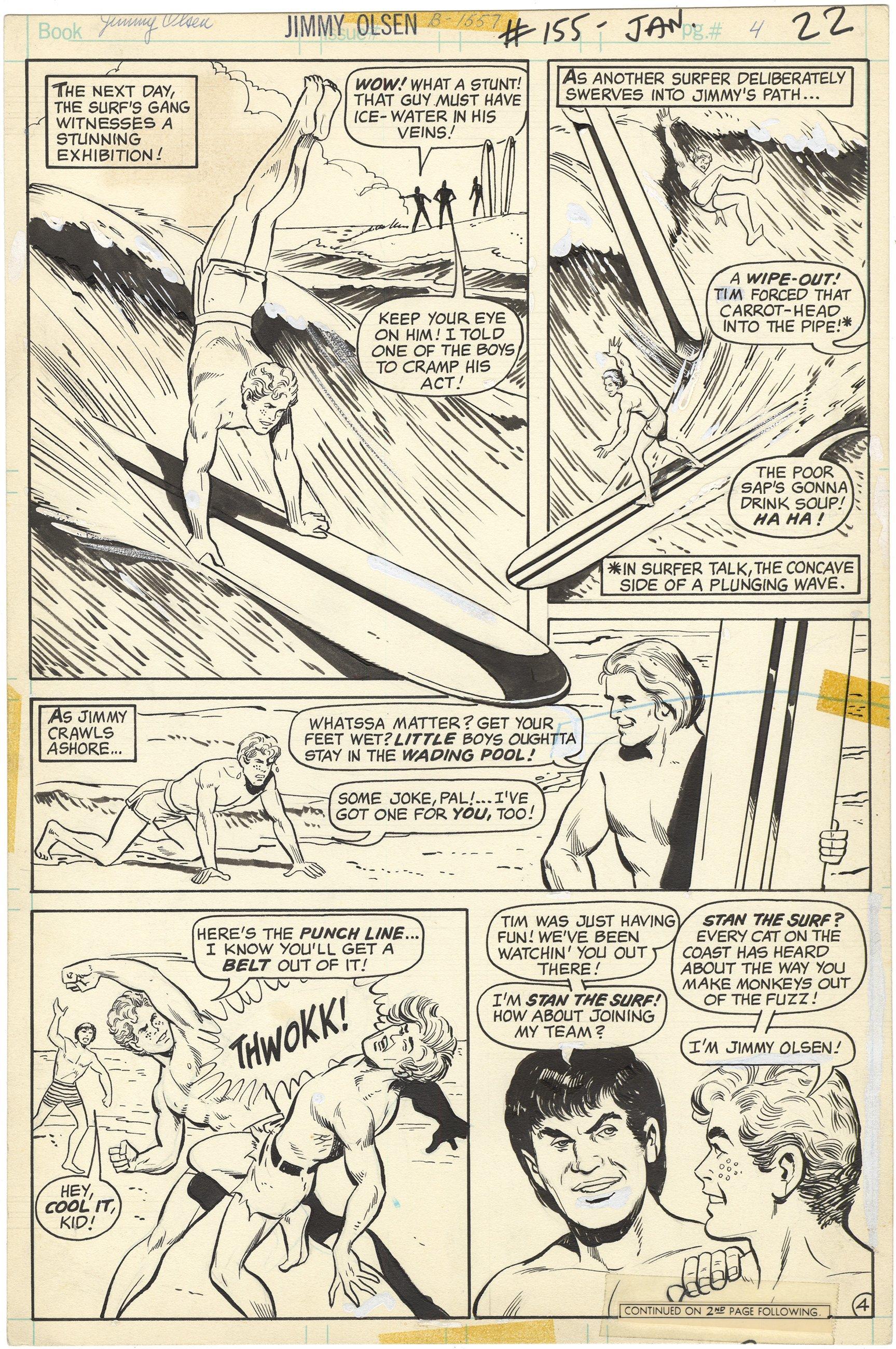 Superman's Pal Jimmy Olsen #155 p4