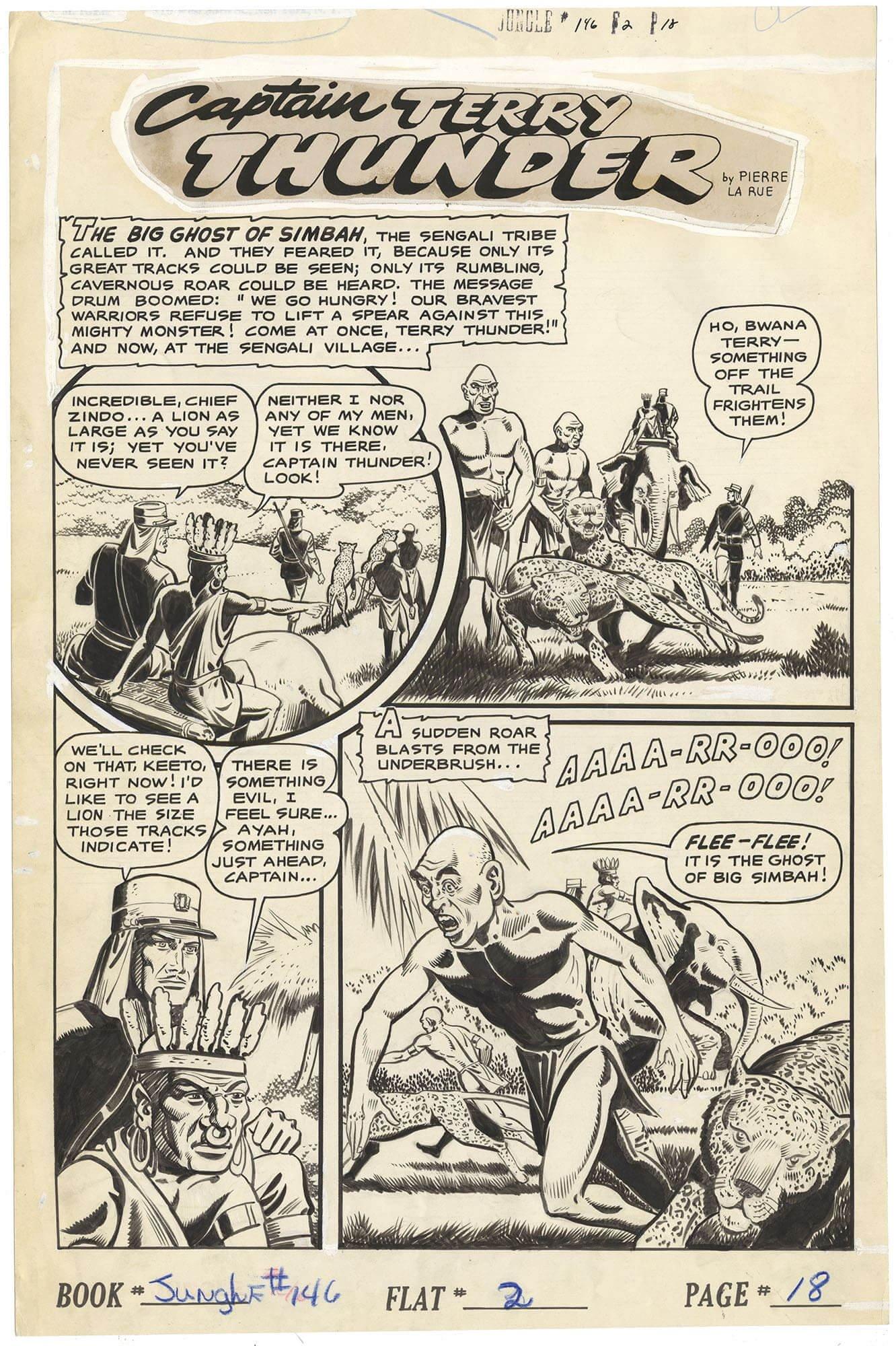 Jungle Comics #146 p18 (Large Art)