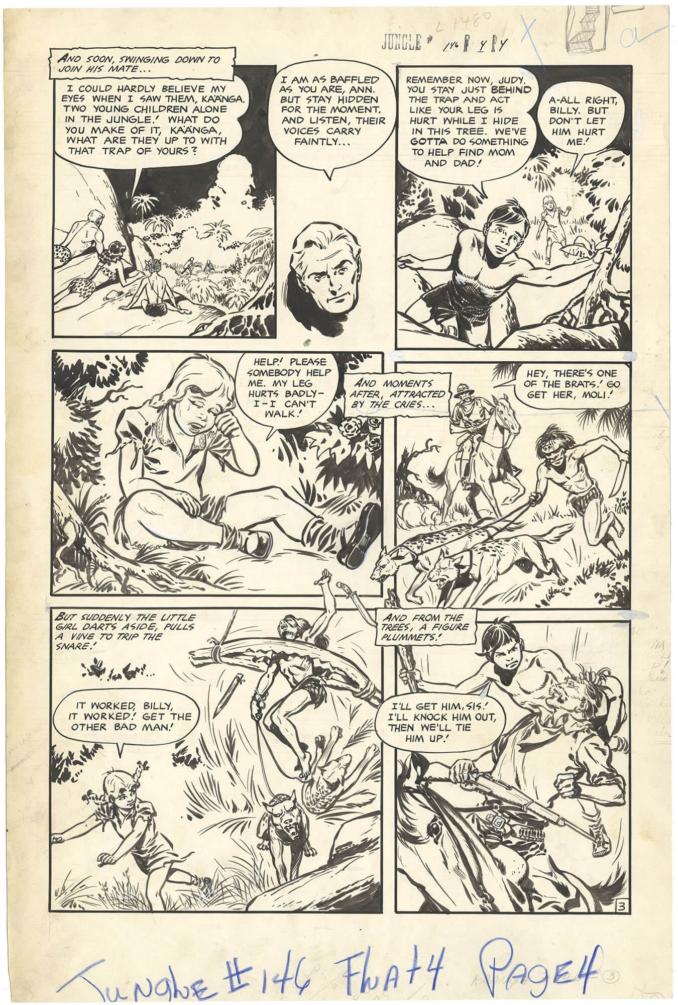 Jungle Comics #146 p3 (Large Art)