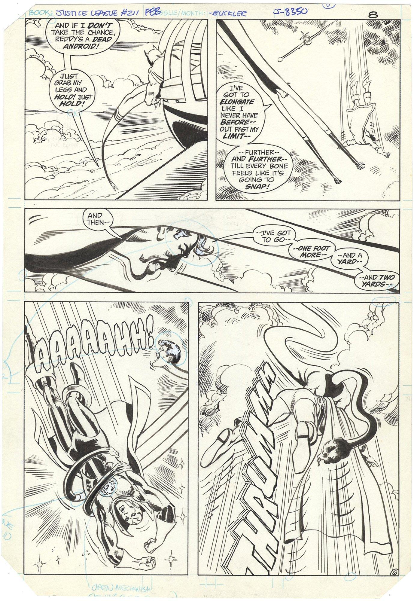 Justice League #211 p6