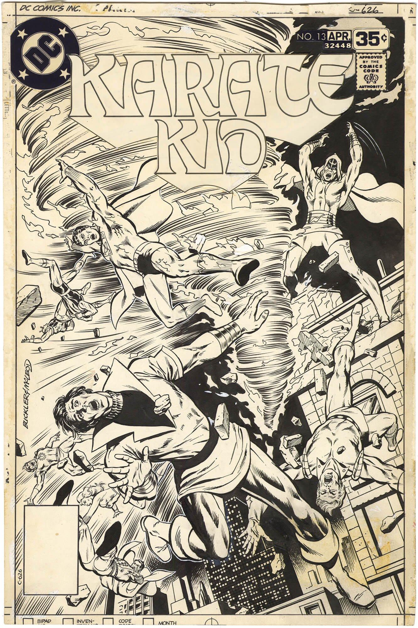 Karate Kid #13 Cover (Legion)
