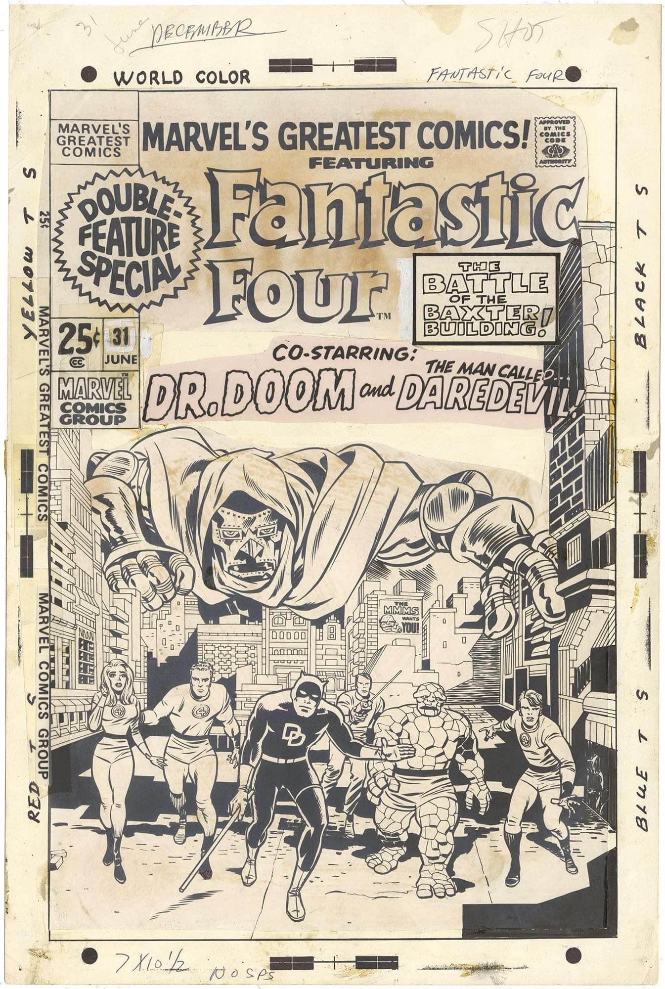 Marvel's Greatest Comics #31 Cover (Stat)