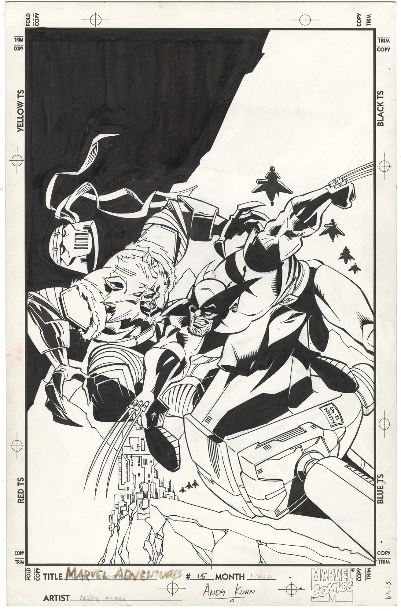 Marvel Adventures #15 Cover