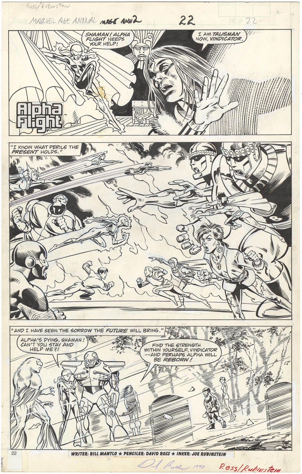 Marvel Age Annual #2 p22 (Alpha Flight)