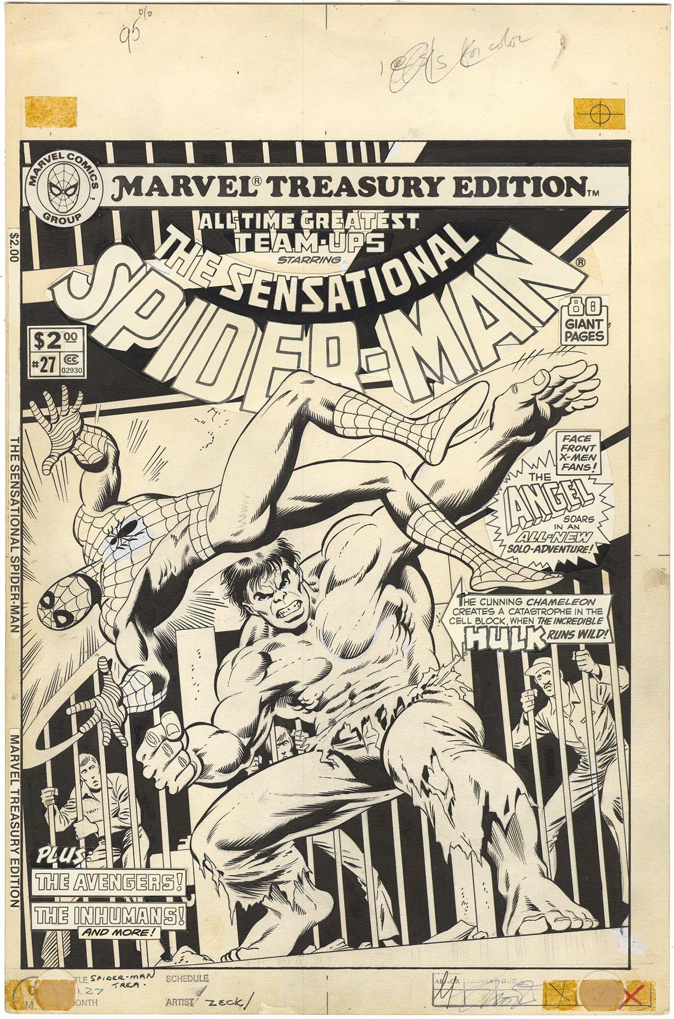 Marvel Treasury Edition - Sensational Spider-Man #27 Cover
