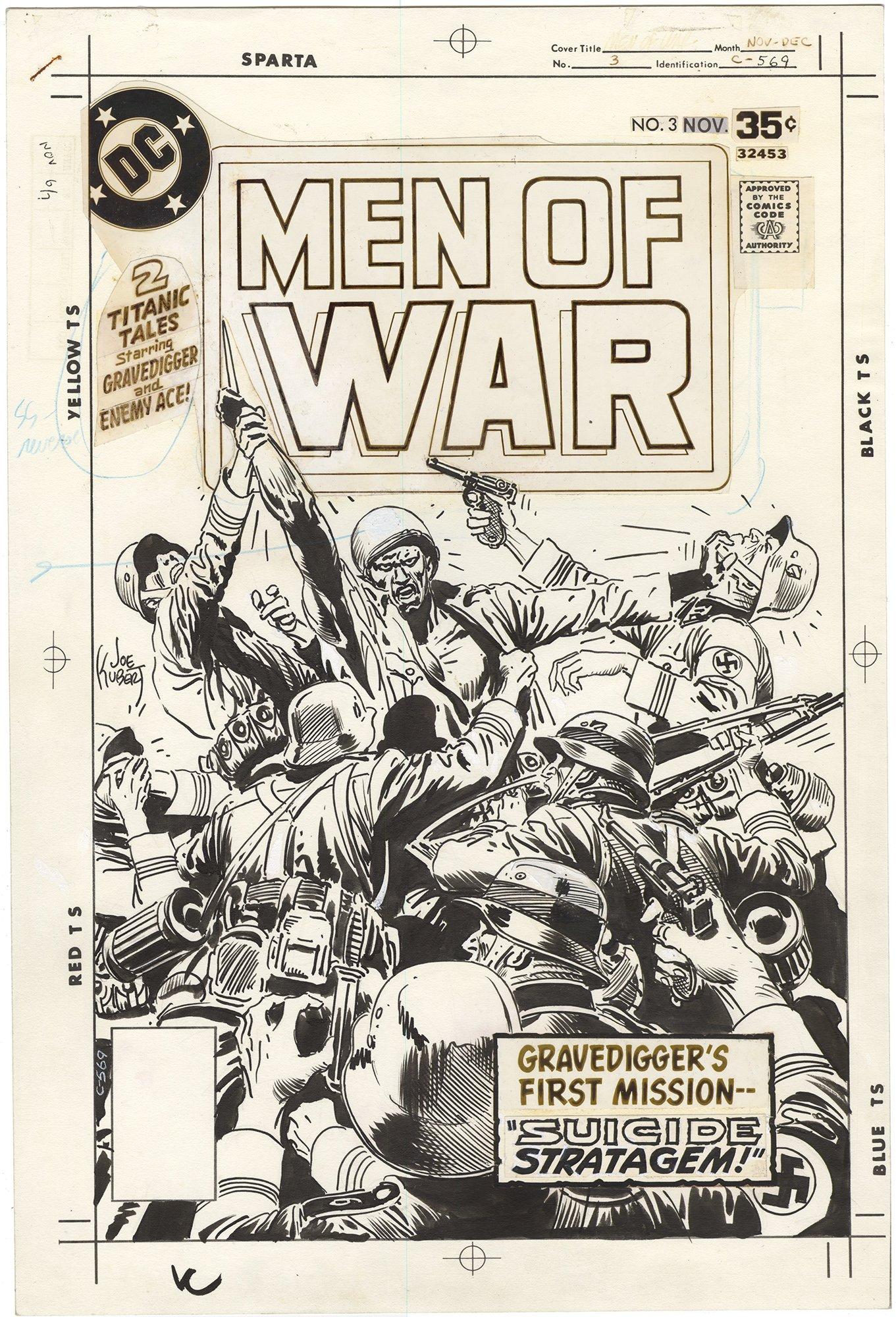 Men of War #3 Cover