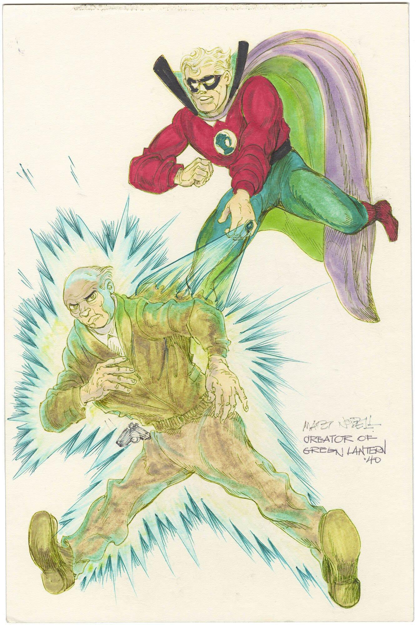 Nodell Green Lantern Commission