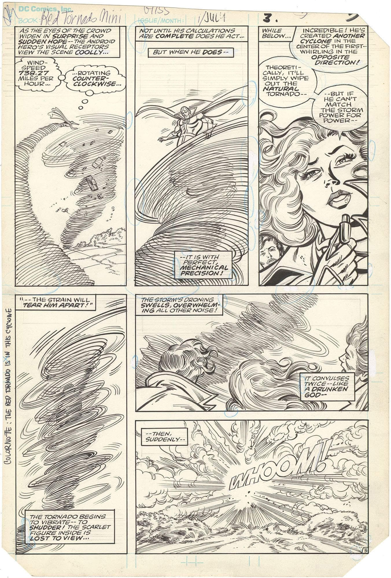 Red Tornado (Mini Series) #1 p3 (Lana Lang)