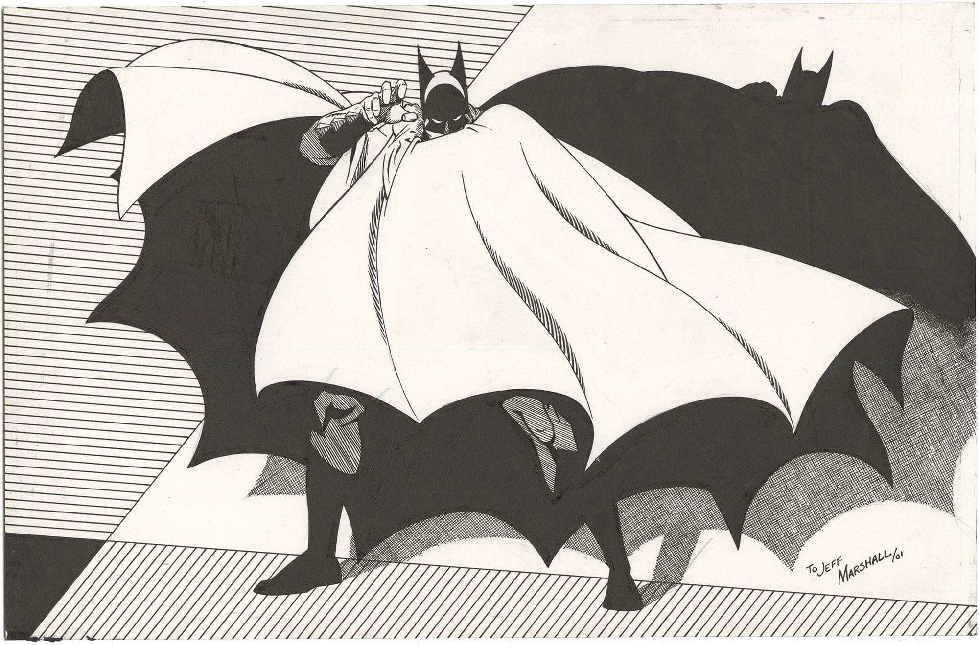 Marshall Rogers - Batman Commission