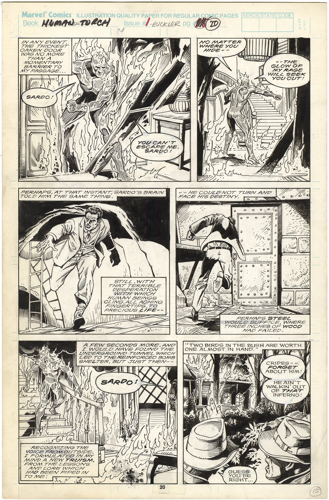 Saga of The Original Human Torch #1 p20