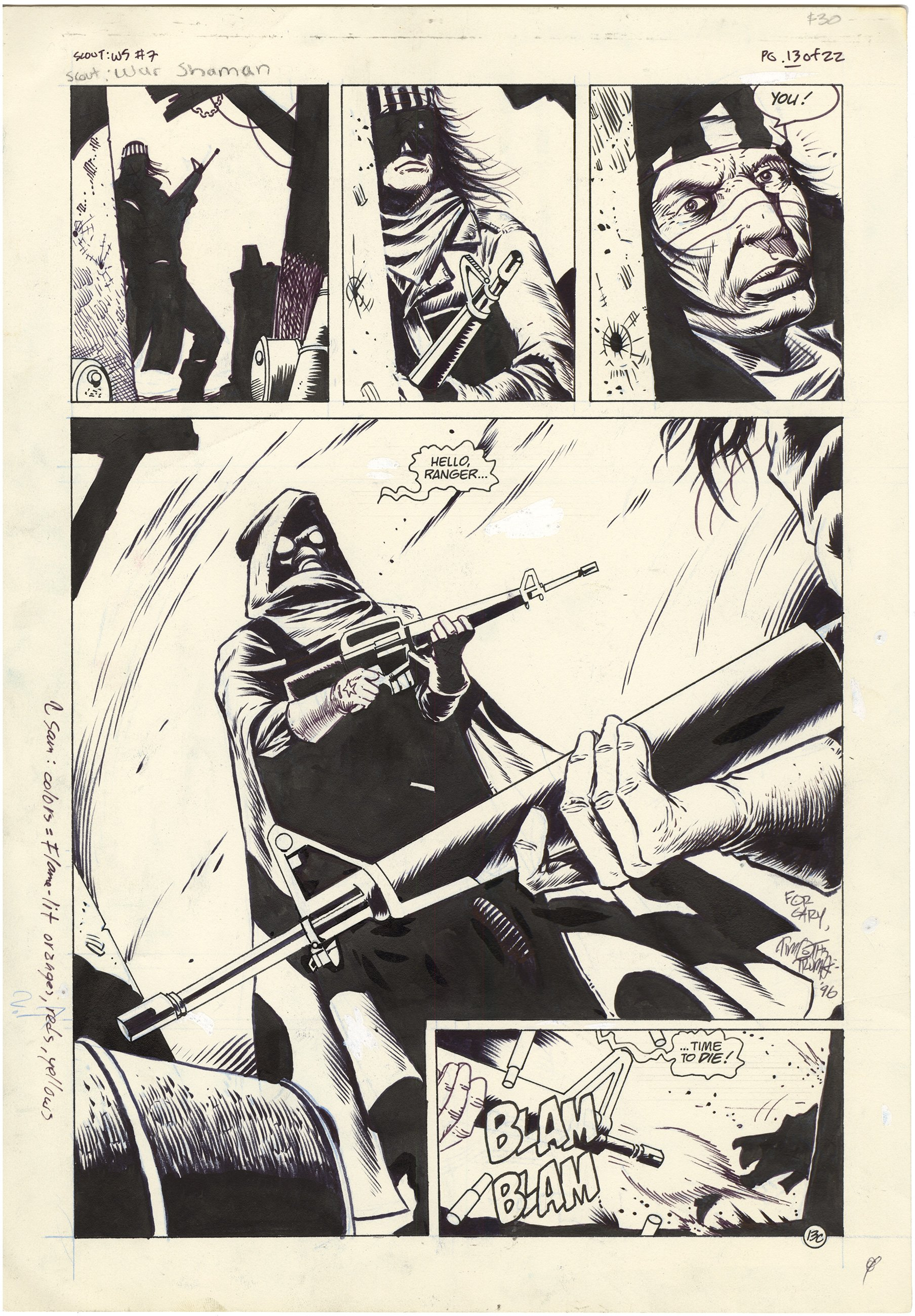 Scout: War Shaman #7 p13