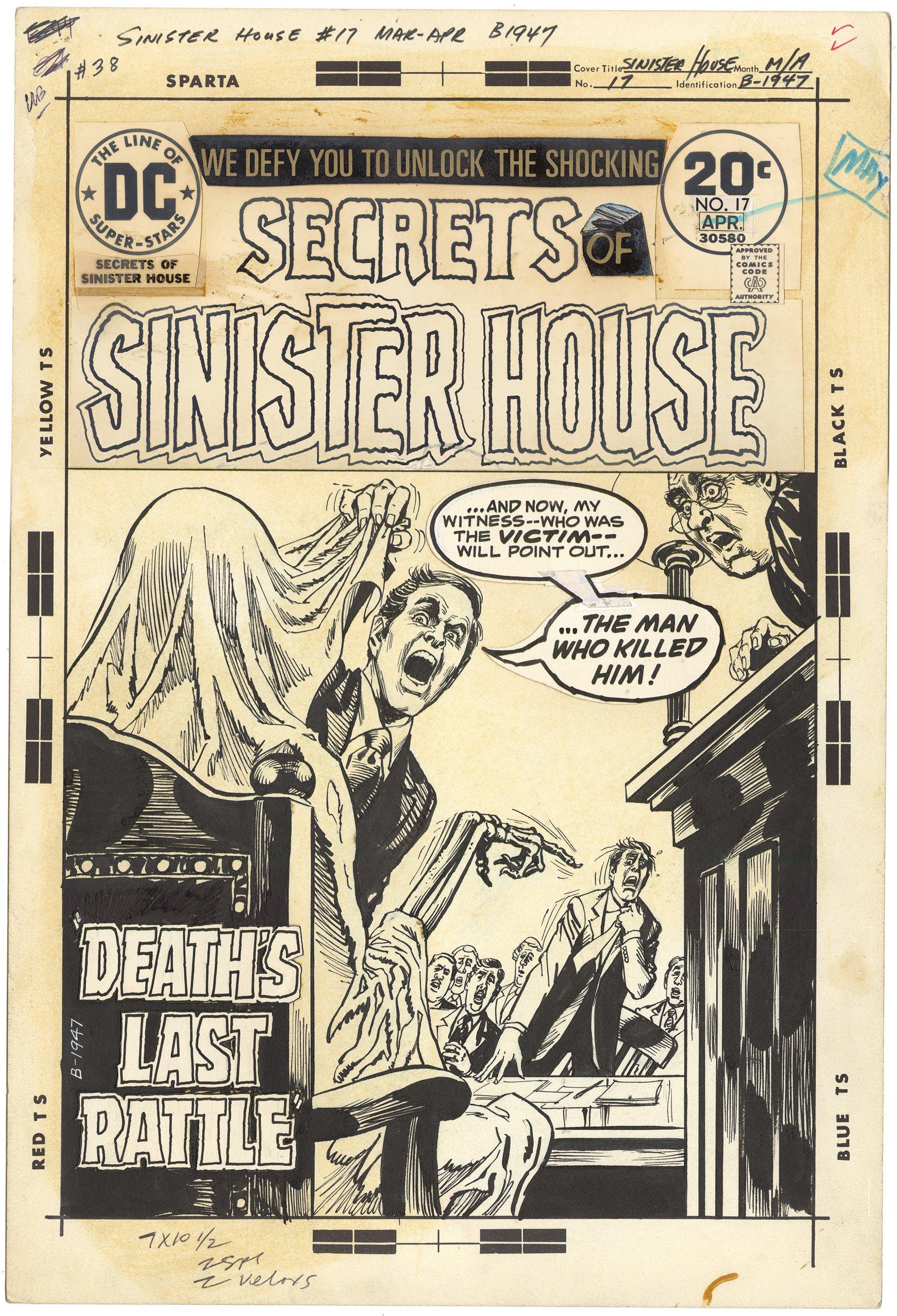 Secrets of Sinister House #17 Cover