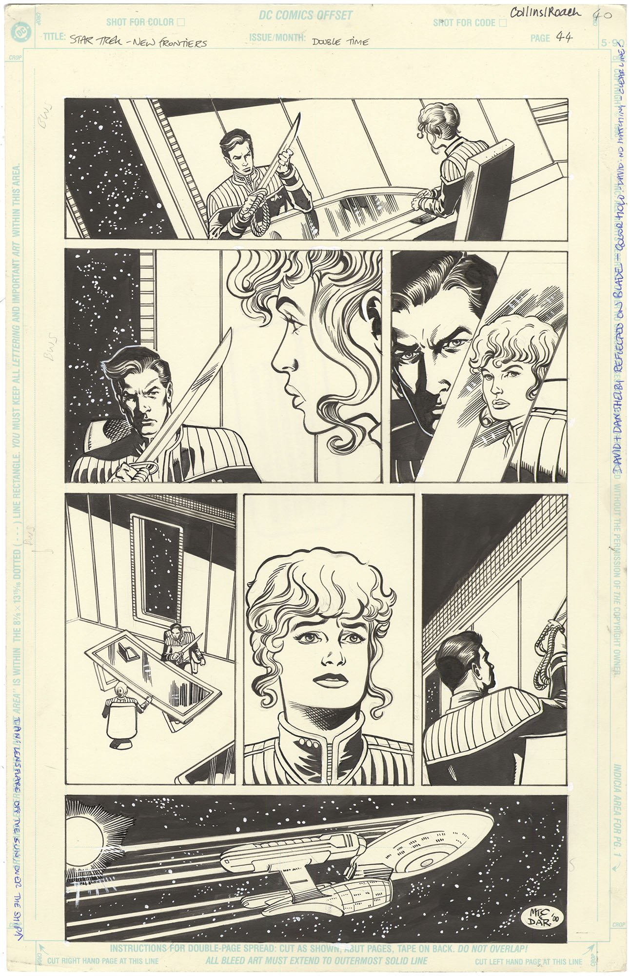 Star Trek: The New Frontier - Double Time #1 p44