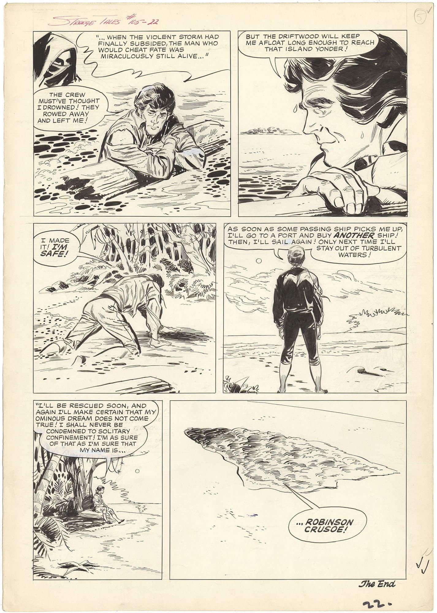 Strange Tales #105 p22 (Large Art)