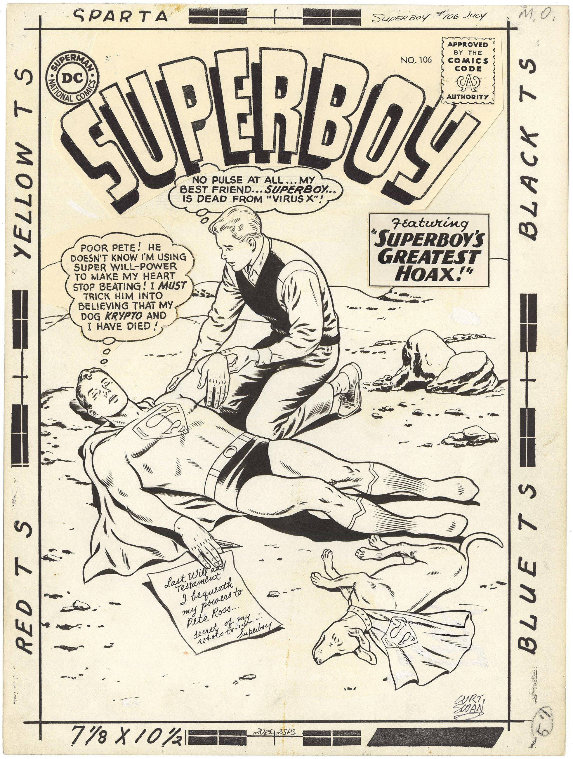 Superboy #106 Cover